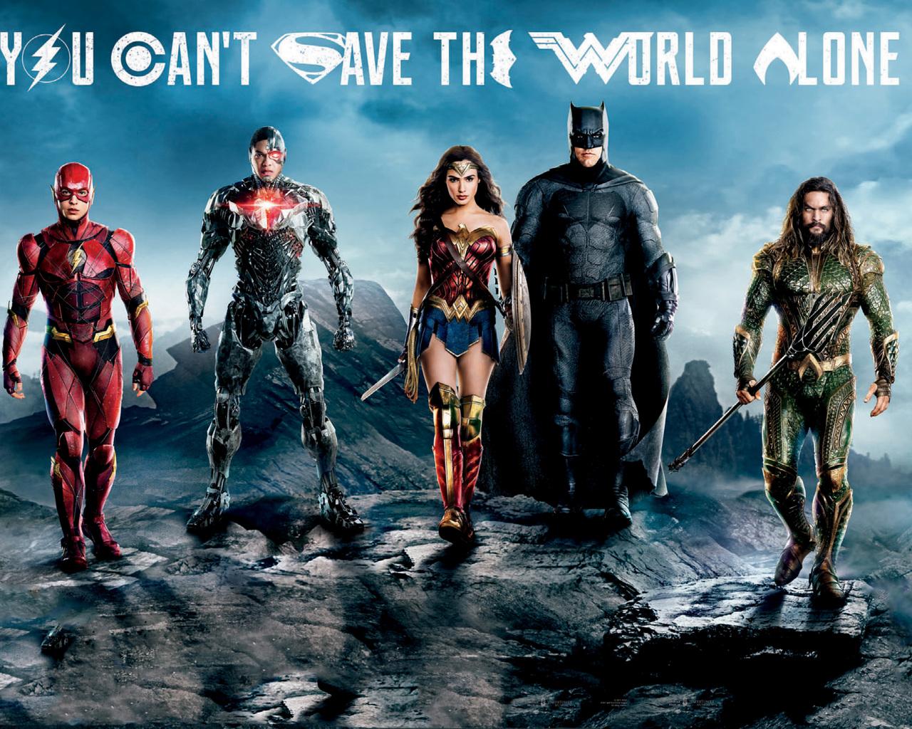 1280x1024 Wonder Woman Movie 1280x1024 Resolution Hd 4k: 1280x1024 Justice League Flash Cyborg Wonder Woman Batman