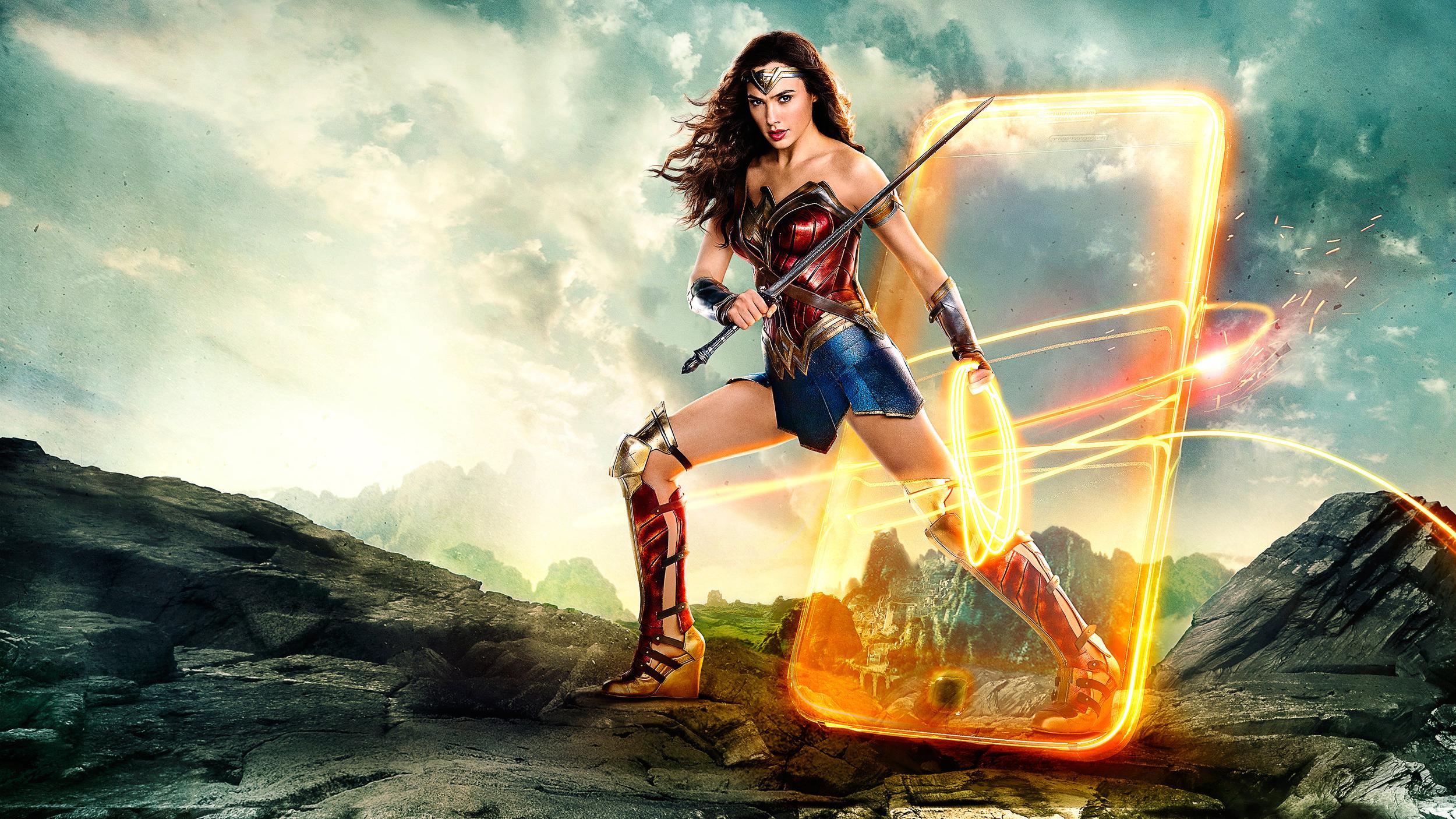 Wonder Woman Movie Wallpaper 1: Justice League Wonder Woman 2018, HD Movies, 4k Wallpapers