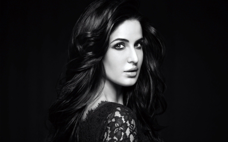 Katrina Kaif Grayscale, HD Indian Celebrities, 4k