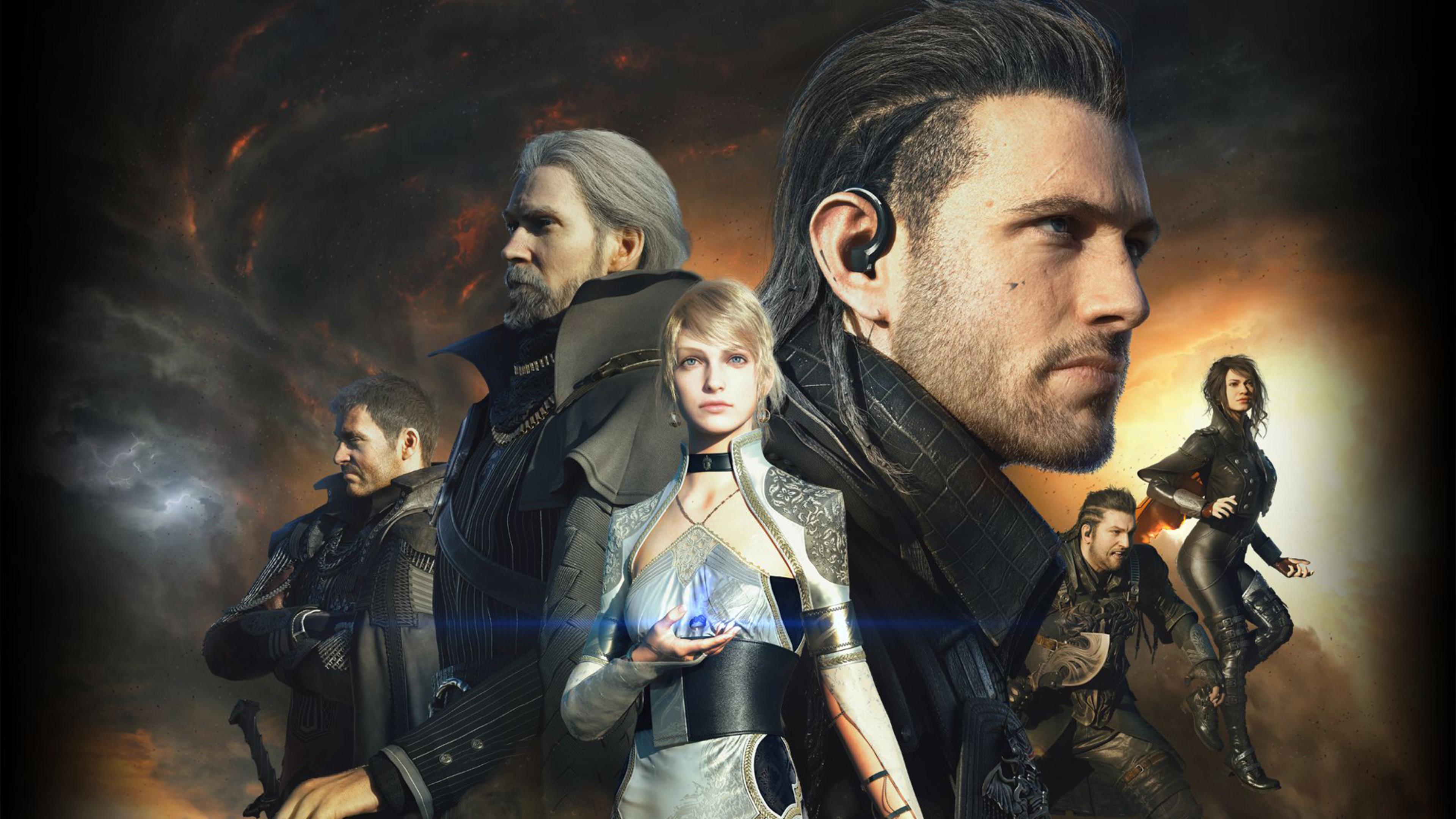2560x1080 Final Fantasy Xv Ps4 2560x1080 Resolution Hd 4k: 3840x2160 Kingsglaive Final Fantasy XV 4k HD 4k Wallpapers