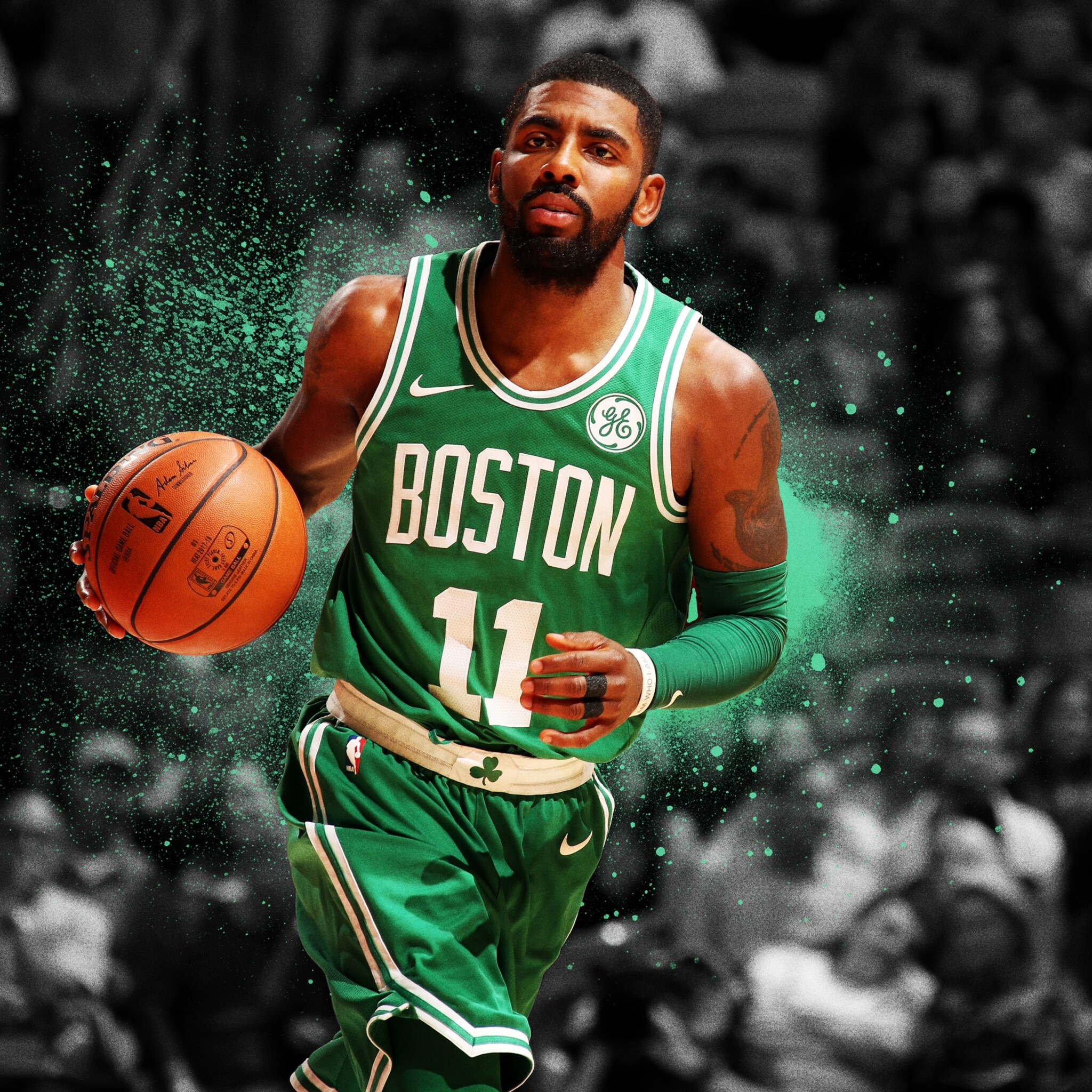 2048x2048 Kyrie Irving Ipad Air HD 4k Wallpapers, Images