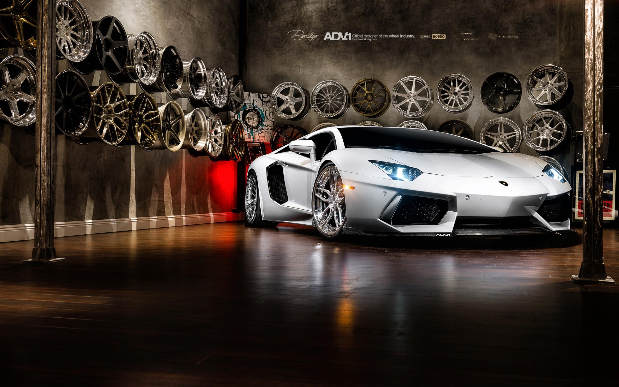 Lamborghini Aventador Car 4k Hd Desktop Wallpaper For 4k: Lamborghini Aventador On Adv1 Wheels, HD Cars, 4k