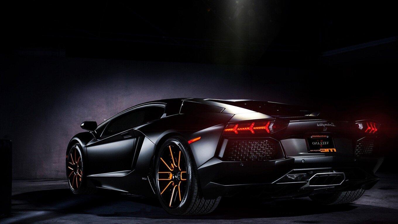 1360x768 Lamborghini Black Laptop HD HD 4k Wallpapers
