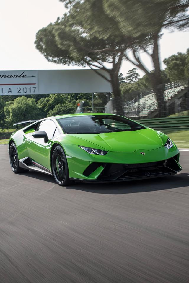 640x960 Lamborghini Huracan Performante Super Car iPhone 4 ...