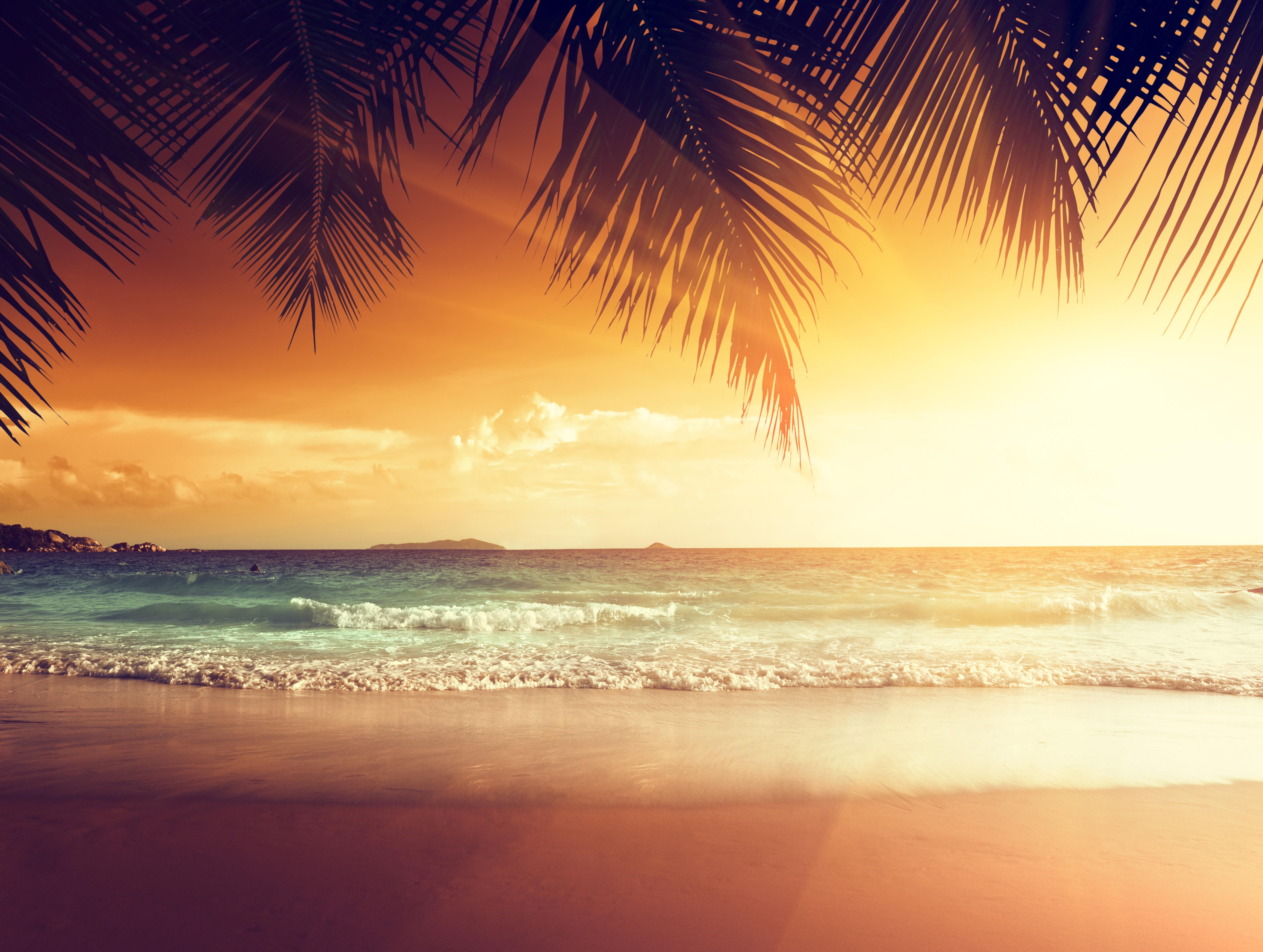 1360x768 Landscape Beach Tropical Sun Laptop HD HD 4k ...