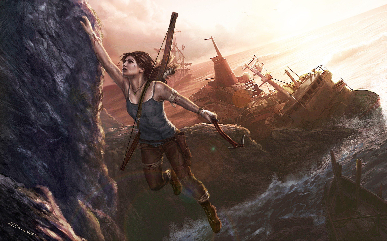 3840x2160 Lara Croft Tomb Raider Artwork 4k Hd 4k: 3840x2160 Lara Croft Art 4k HD 4k Wallpapers, Images