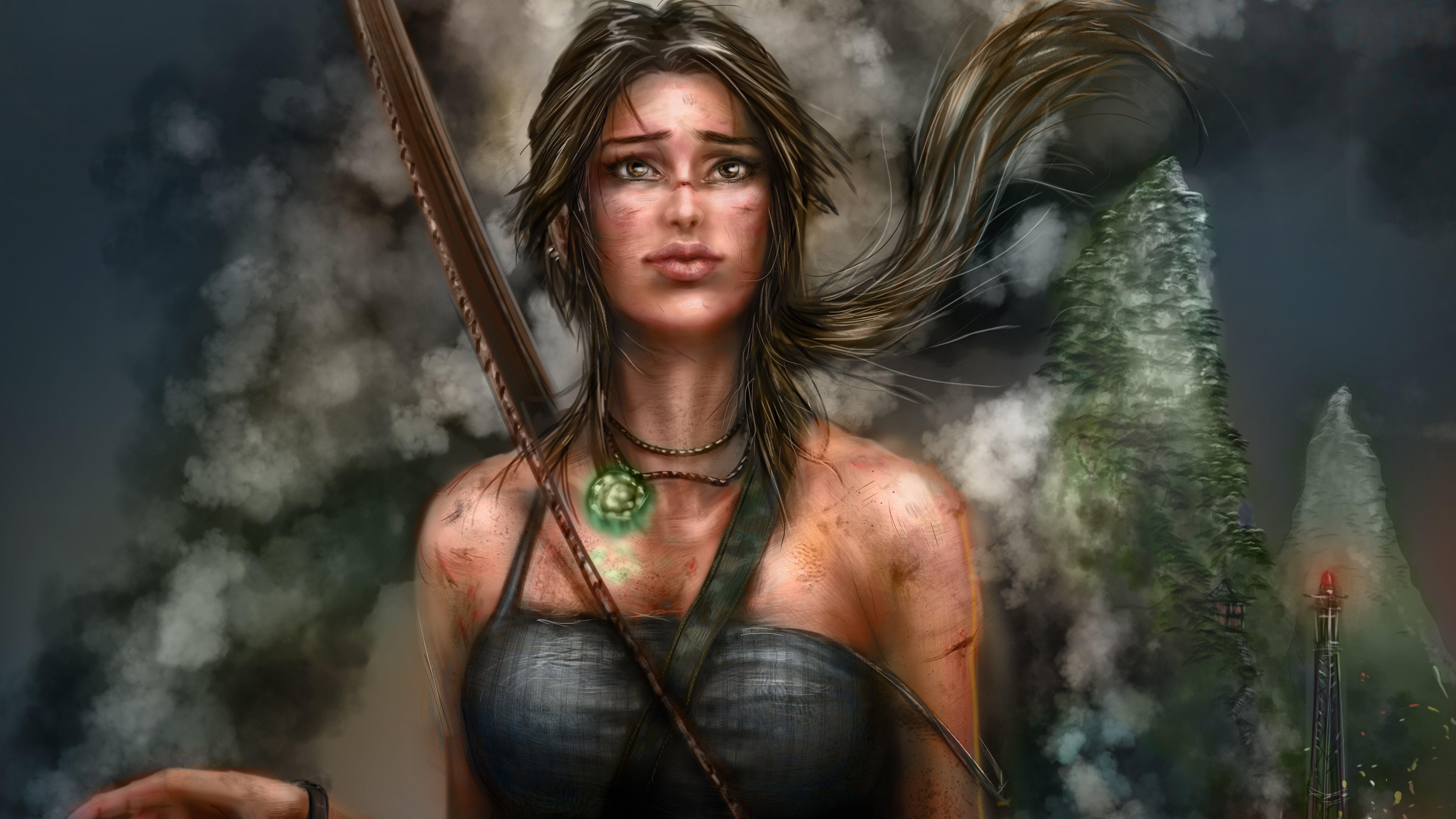 7680x4320 Lara Croft 8k Artwork 8k Hd 4k Wallpapers: 1920x1080 Lara Croft Artworks 5k Laptop Full HD 1080P HD