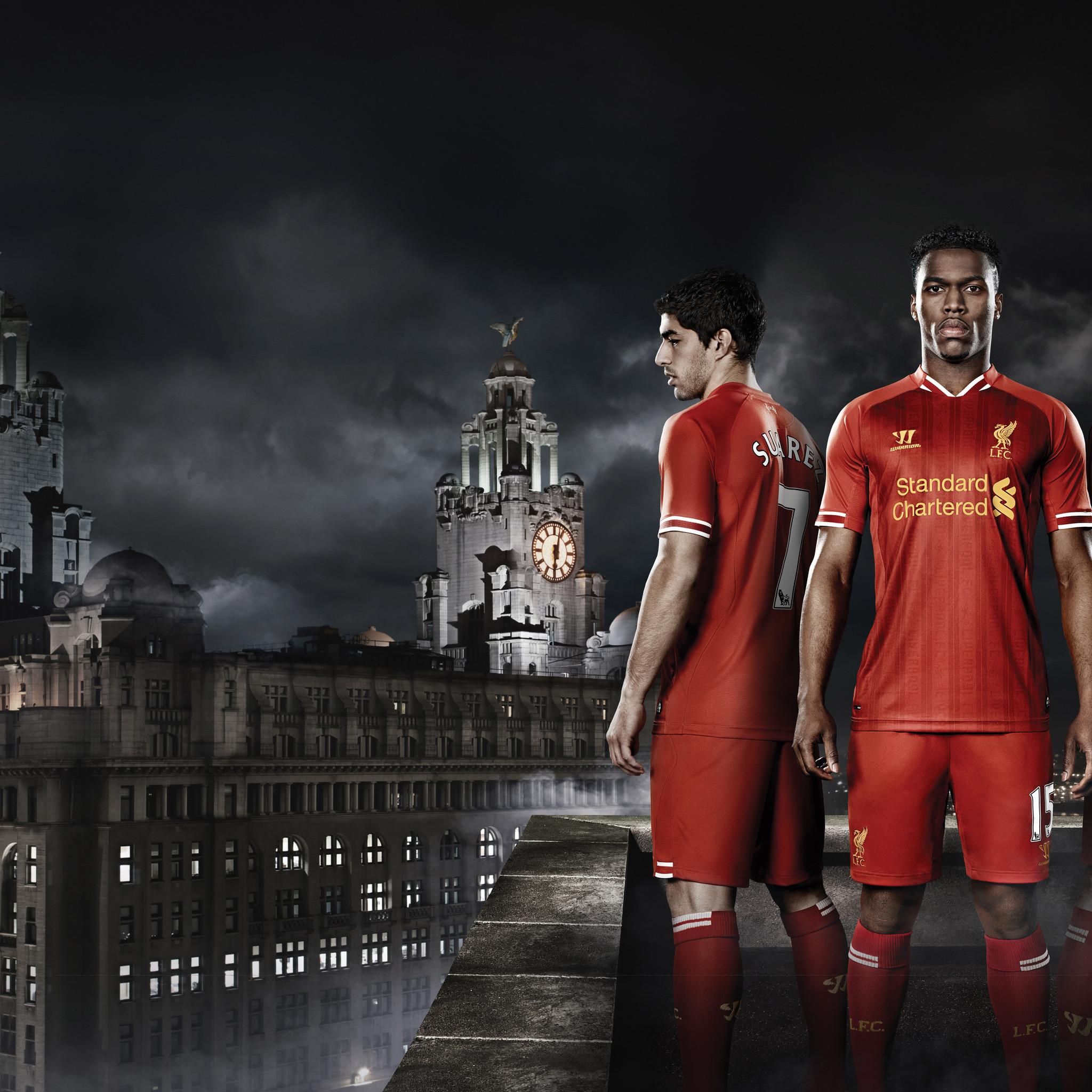 2048x2048 Liverpool FC Daniel Sturridge Luis Suarez Steven
