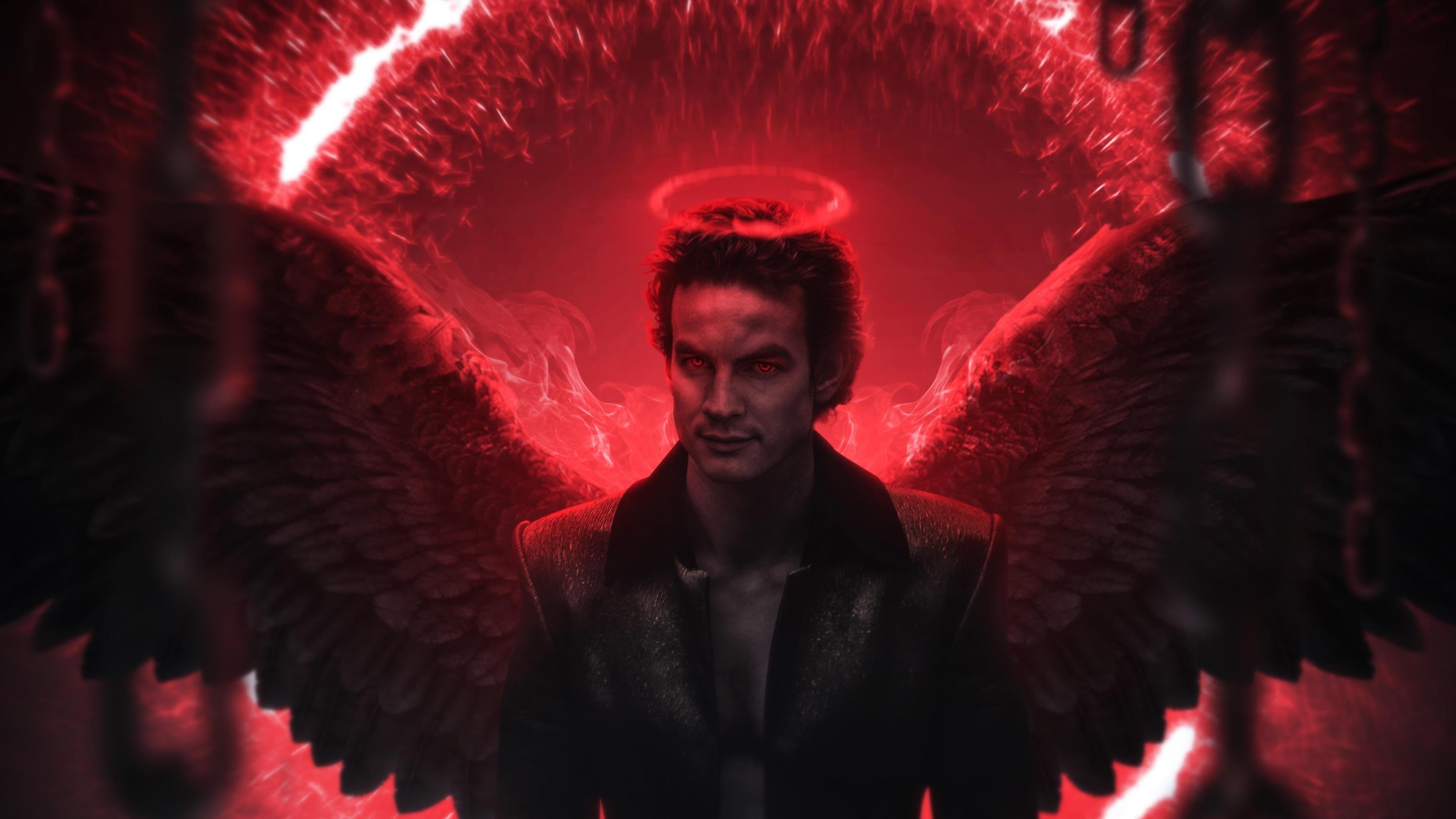 Lucifer Digital Art 4k, HD Superheroes, 4k Wallpapers ...