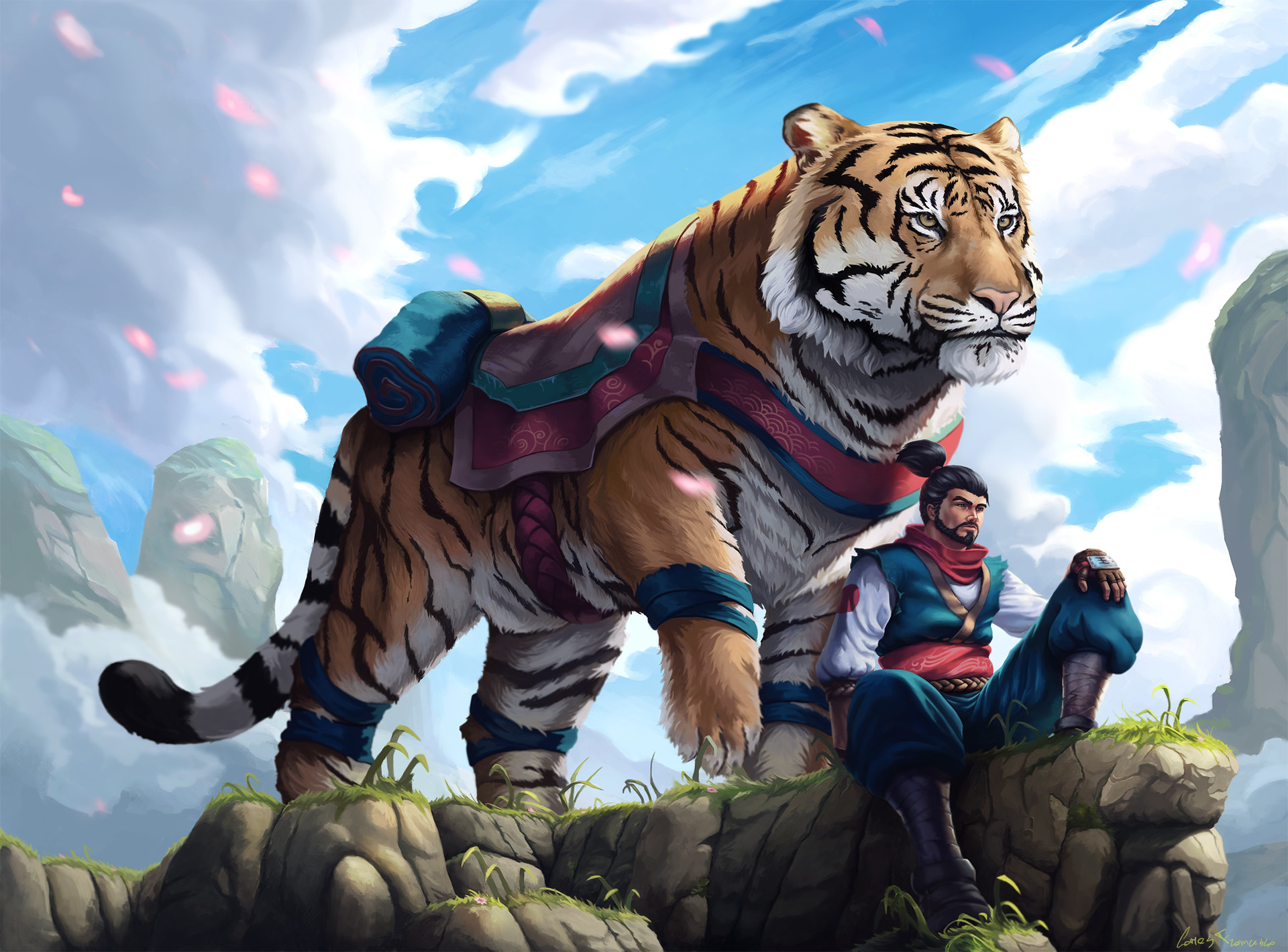 Love Animals Tigers Human Dude 1920x1080 Wallpaper Animals: 480x854 Man With Tiger Android One HD 4k Wallpapers
