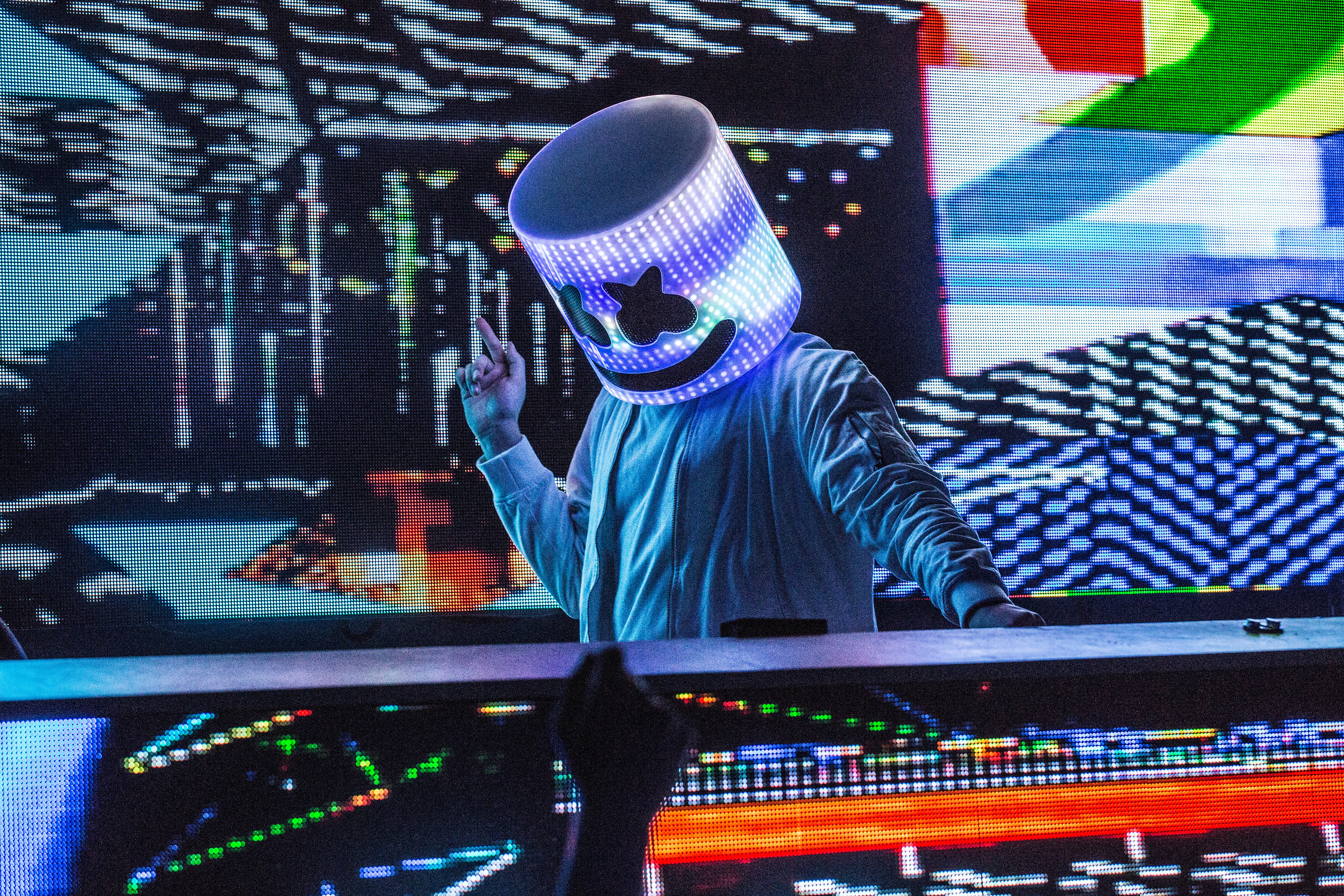 Marshmello 4k 2017 Iphone, HD Music, 4k Wallpapers, Images ...