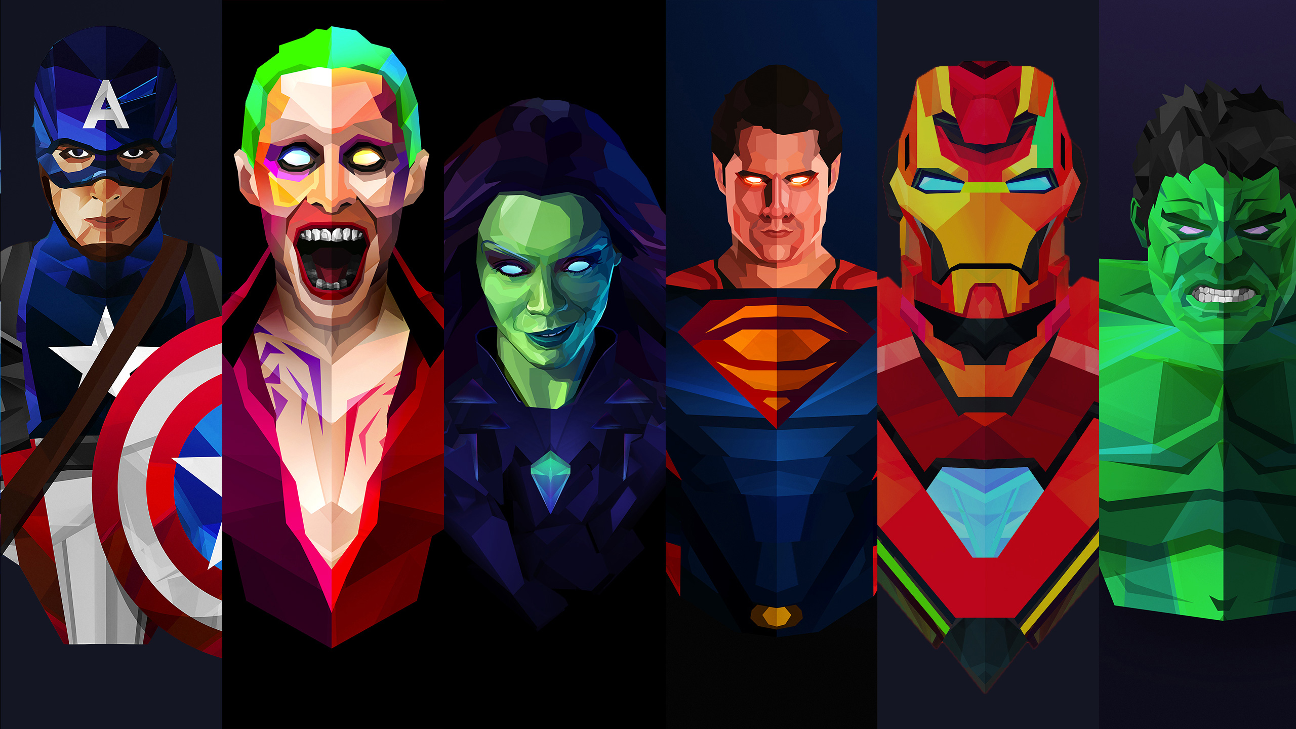 Marvel and dc artwork hd superheroes 4k wallpapers images backgrounds photos and pictures - Dc characters wallpaper hd ...