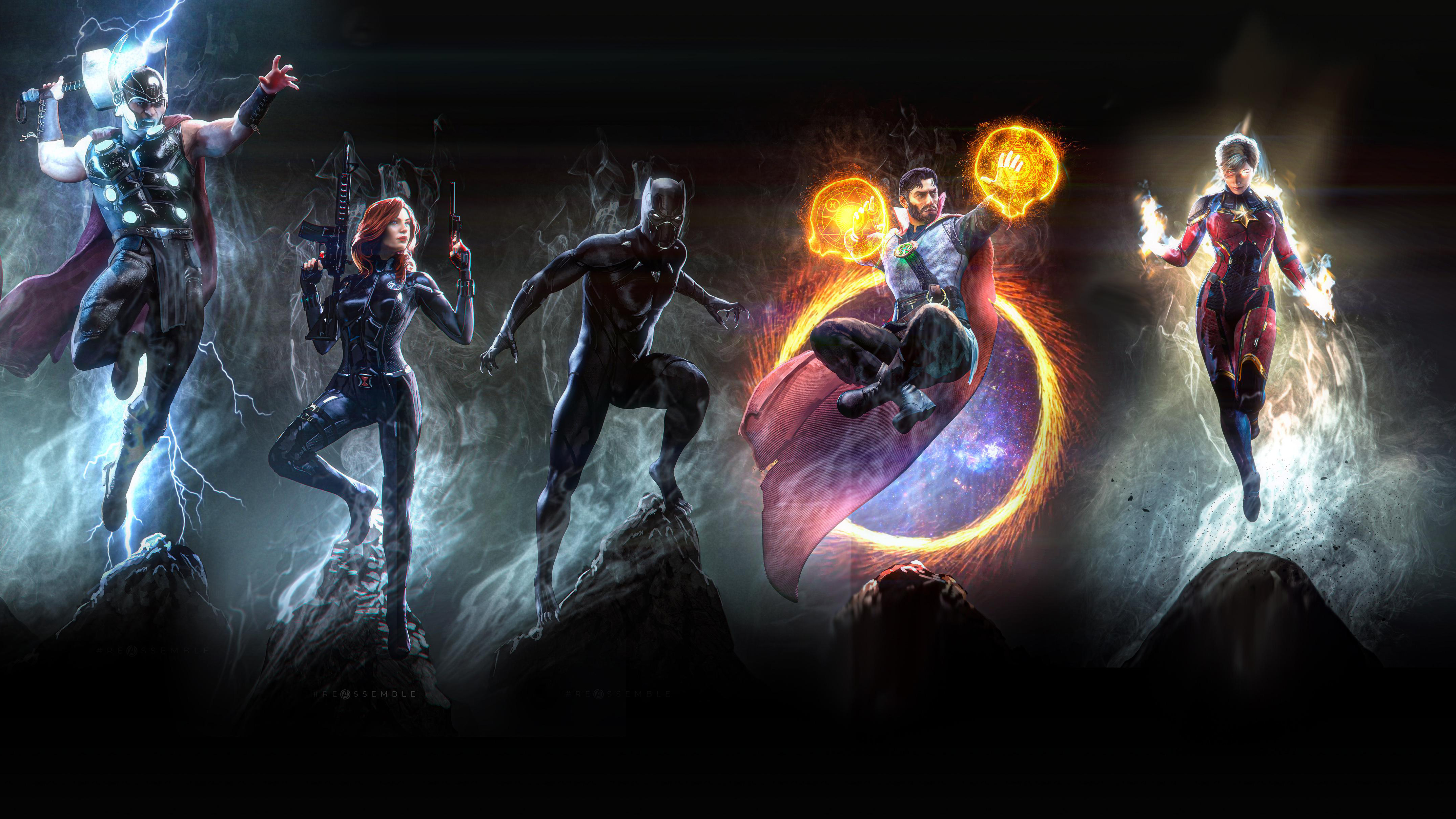 1920x1080 marvel heroes 4k art laptop full hd 1080p hd 4k wallpapers images backgrounds - Marvel hd wallpapers 4k ...