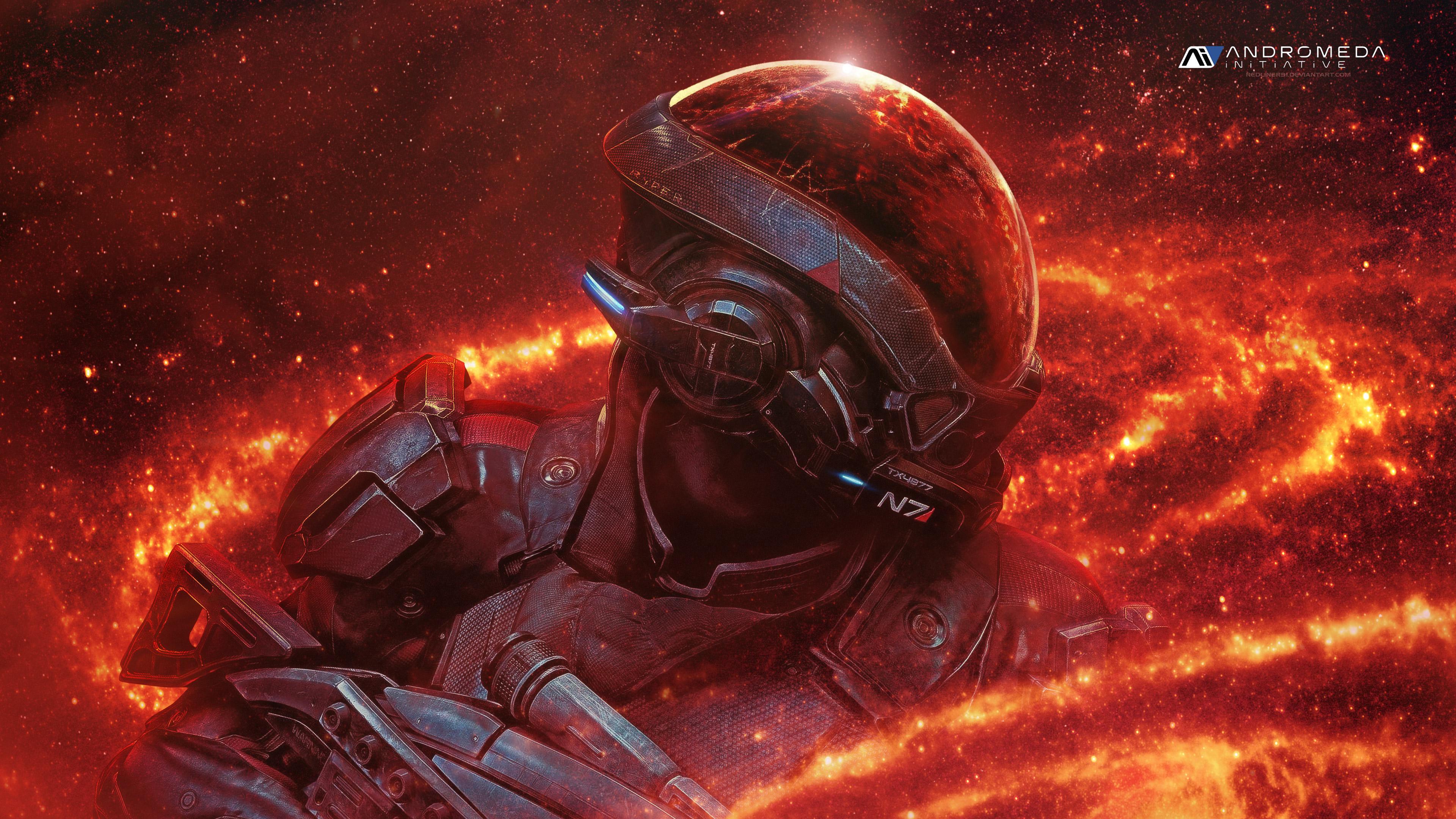 Mass Effect Andromeda Wallpaper Iphone: 1080x1920 Mass Effect Andromeda RYDER N7 4k Iphone 7,6s,6