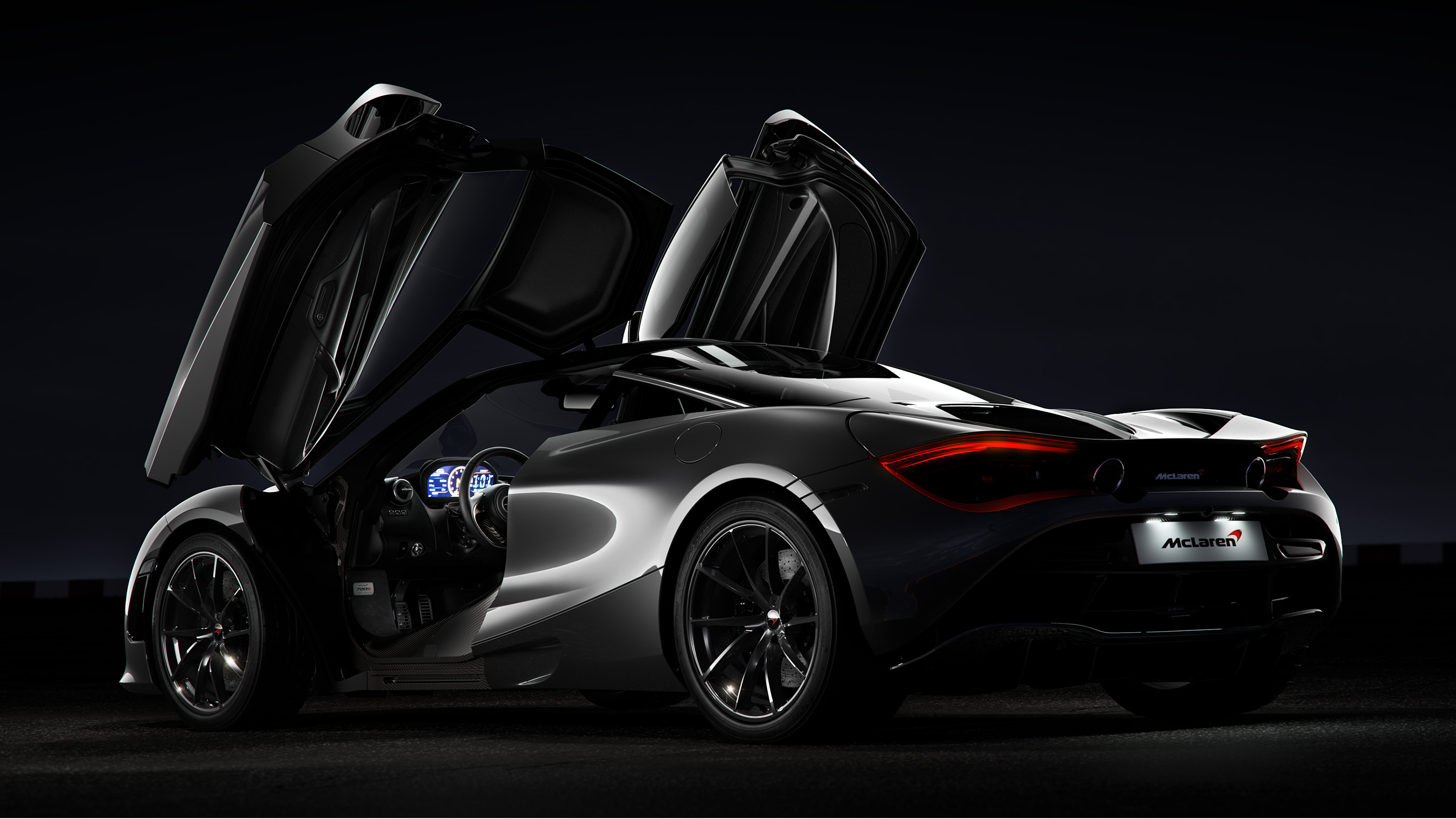 Mclaren 720s doors up hd cars 4k wallpapers images - Wallpaper hd 4k car ...