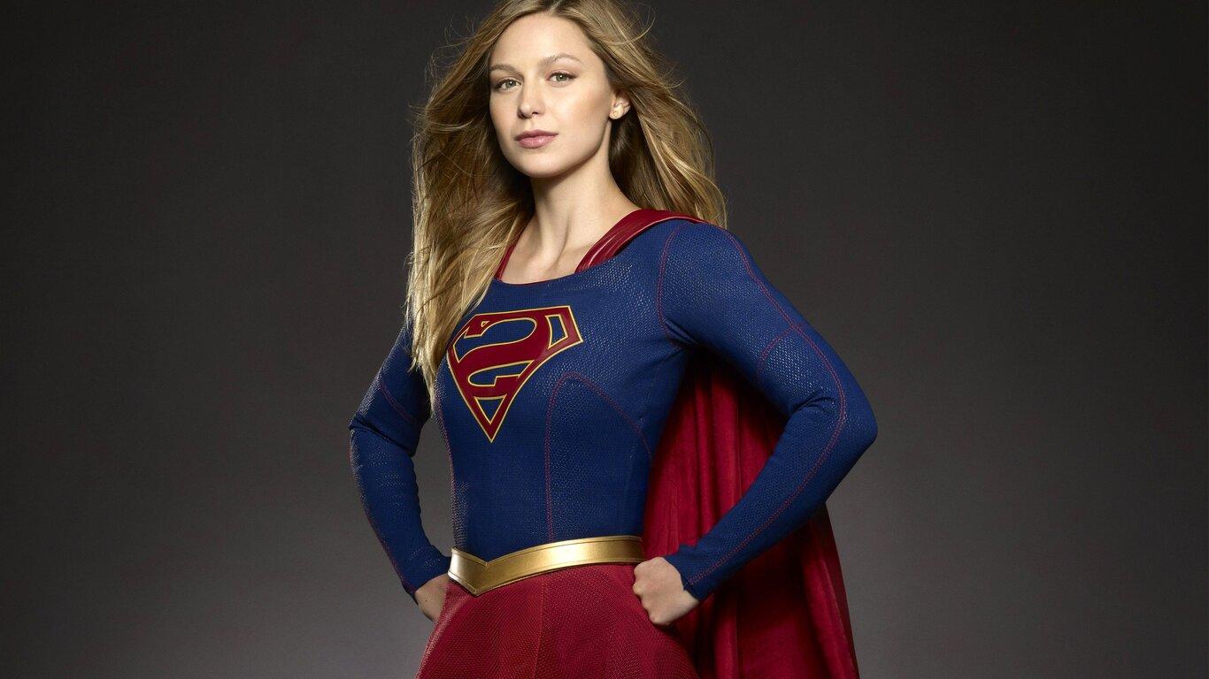 1366x768 Melissa Benoist Supergirl Tv Show 1366x768 ...