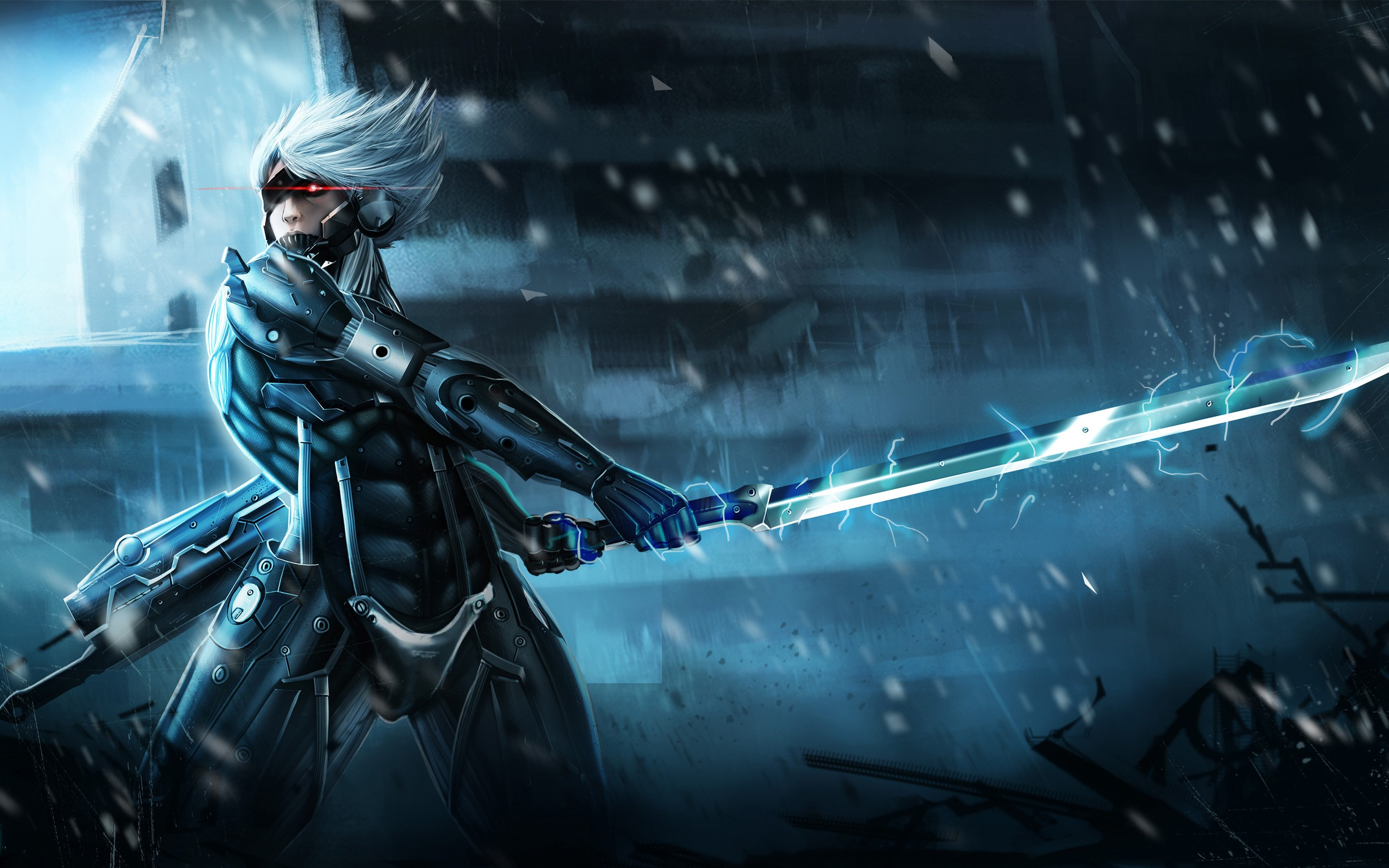 42 Hd Raiden Wallpaper On Wallpapersafari: Metal Gear Rising Raiden, HD Games, 4k Wallpapers, Images