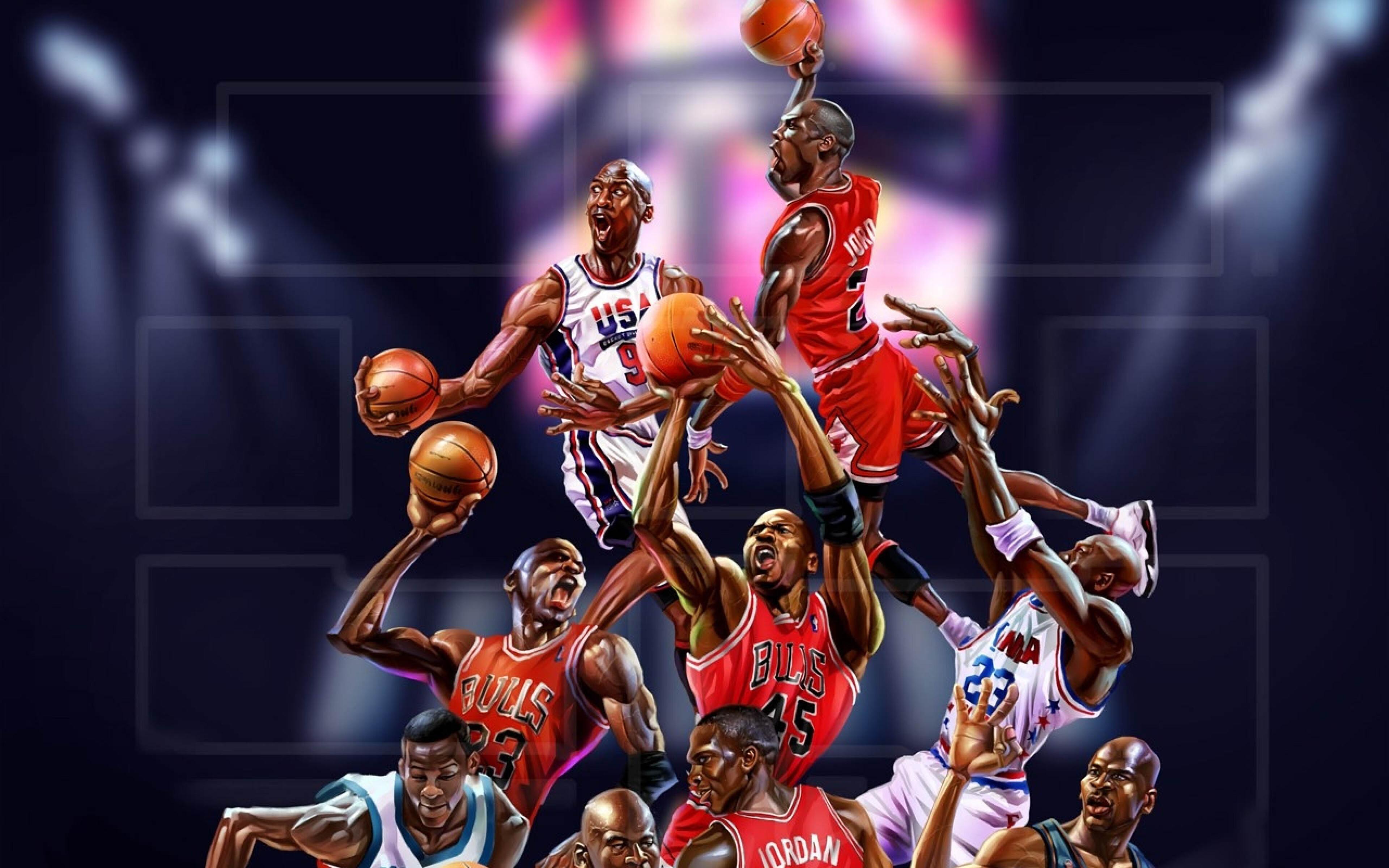 Michael Jordan Artwork: 3840x2400 Michael Jordan Art 4k HD 4k Wallpapers, Images