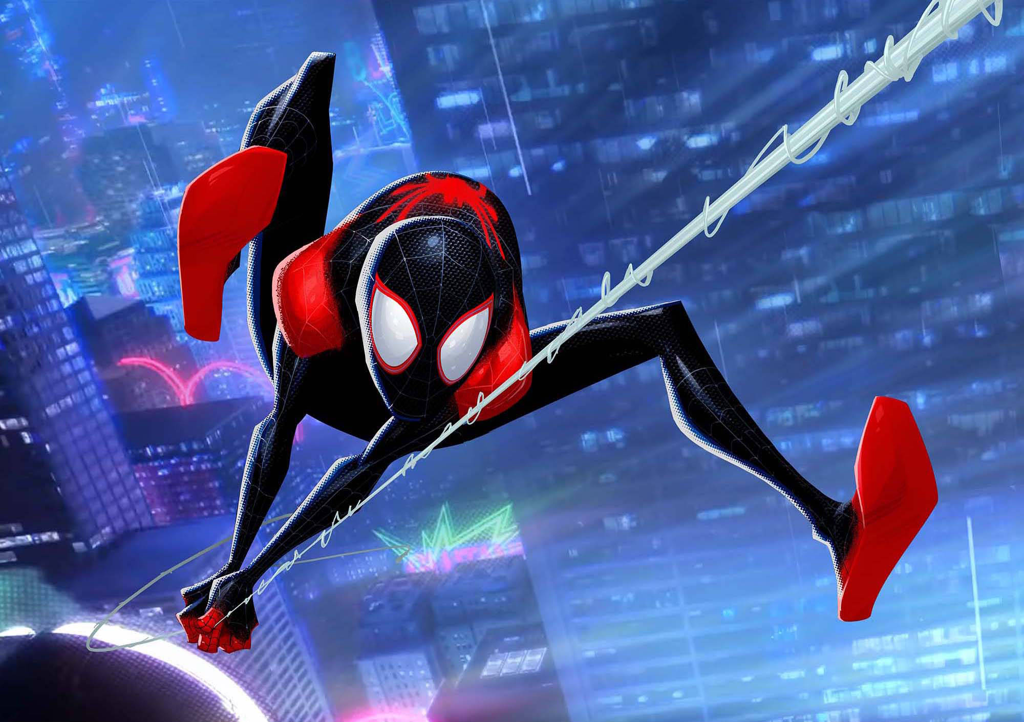 Miles Morales SpiderMan Into The Spider Verse, HD