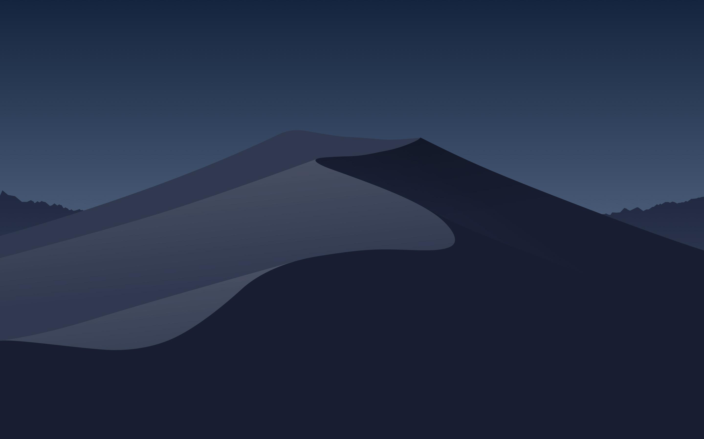 2880x1800 Minimal Mojave Night Macbook Pro Retina HD 4k ...