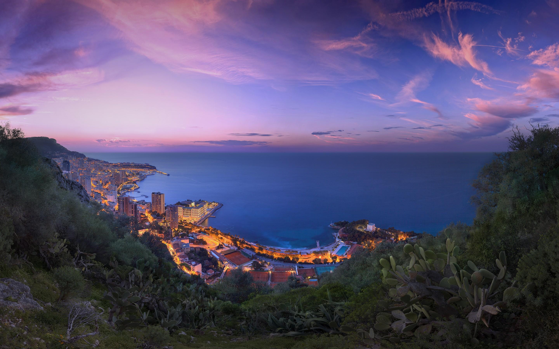 2048x2048 Serene Sunset Ipad Air Hd 4k Wallpapers Images: 2048x2048 Monaco Purple Clouds Sunset Ipad Air HD 4k