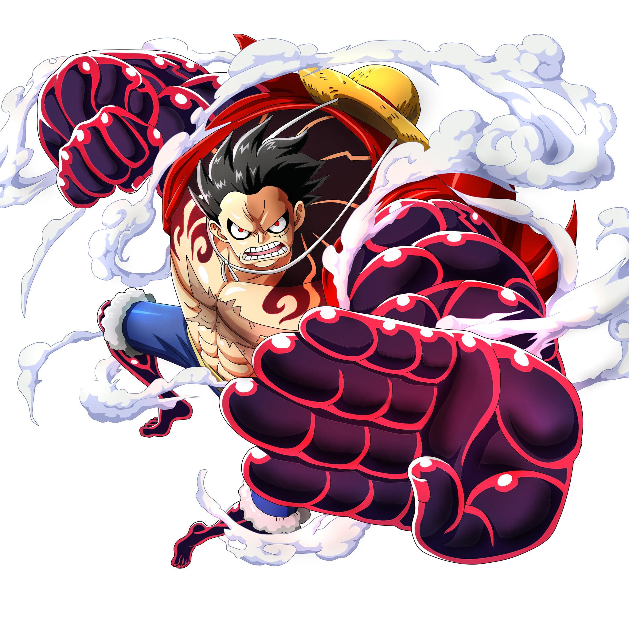 2048x2048 Monkey D Luffy One Piece Ipad Air HD 4k