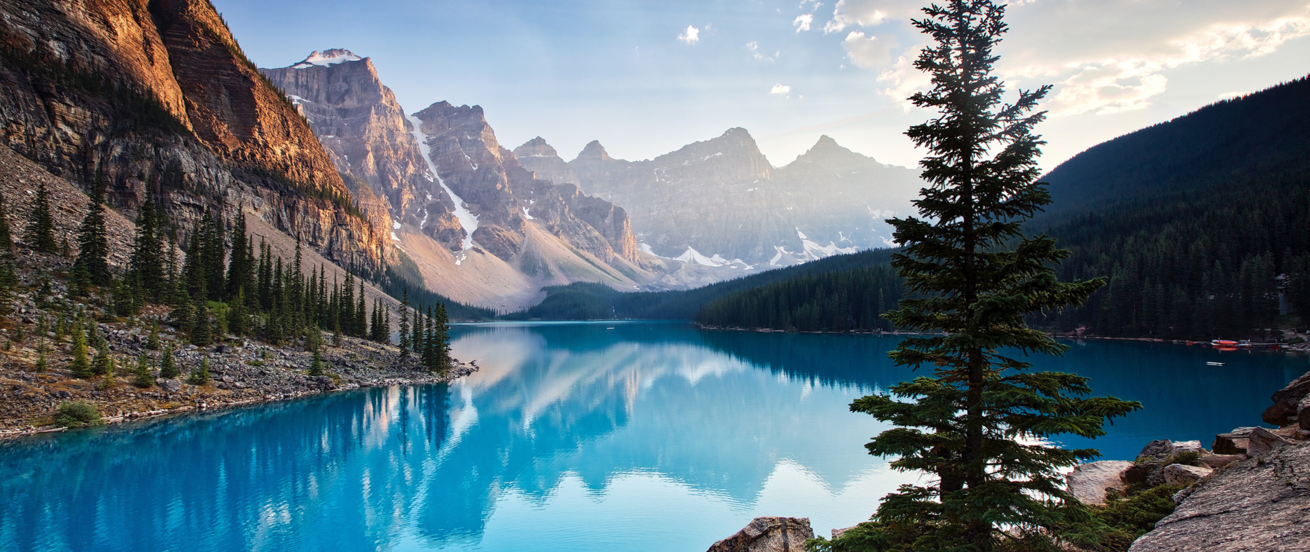 2560x1080 moraine lake south channel 2560x1080 resolution hd 4k wallpapers  images  backgrounds