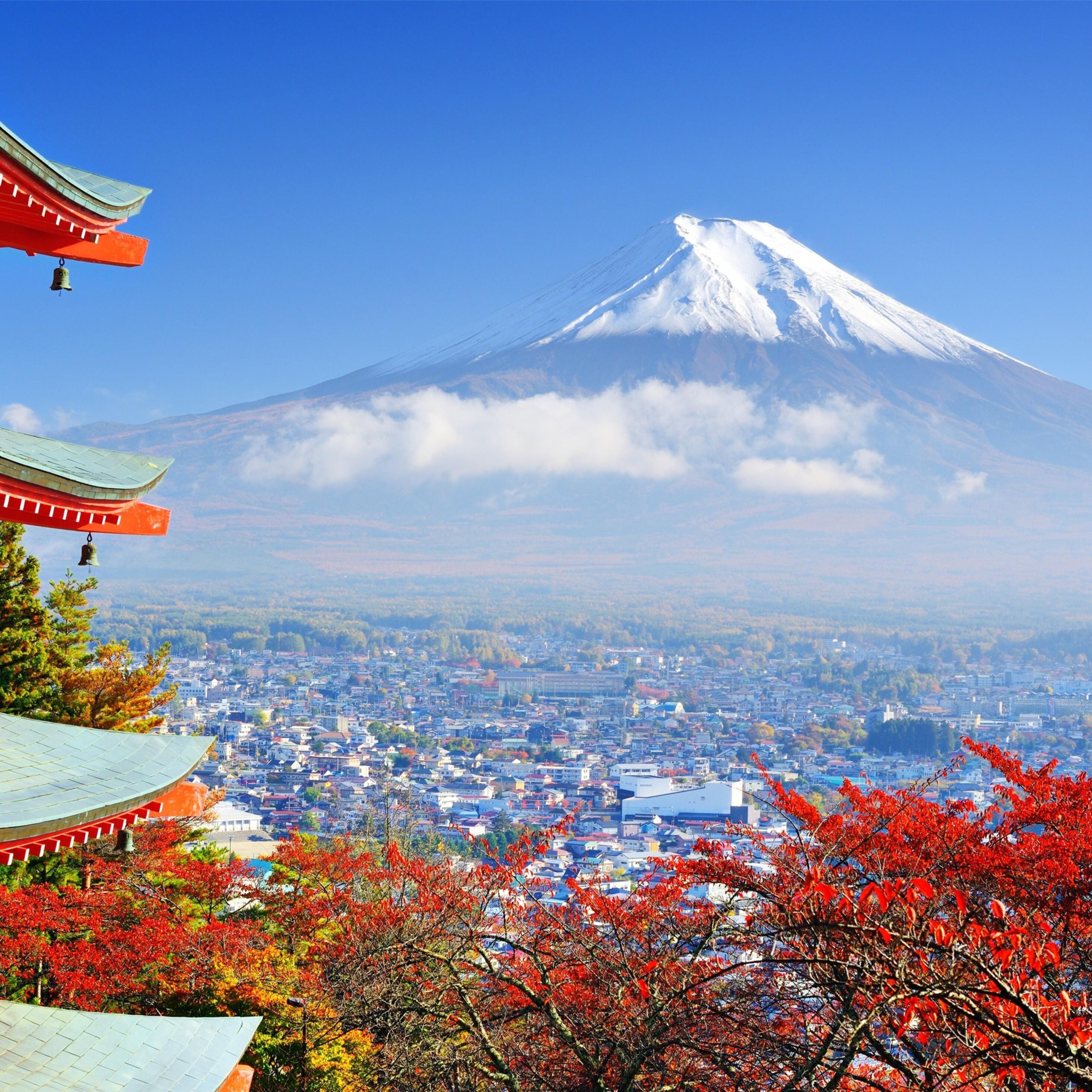 Mount Hd Wallpaper: 2932x2932 Mount Fuji Mountain Ipad Pro Retina Display HD