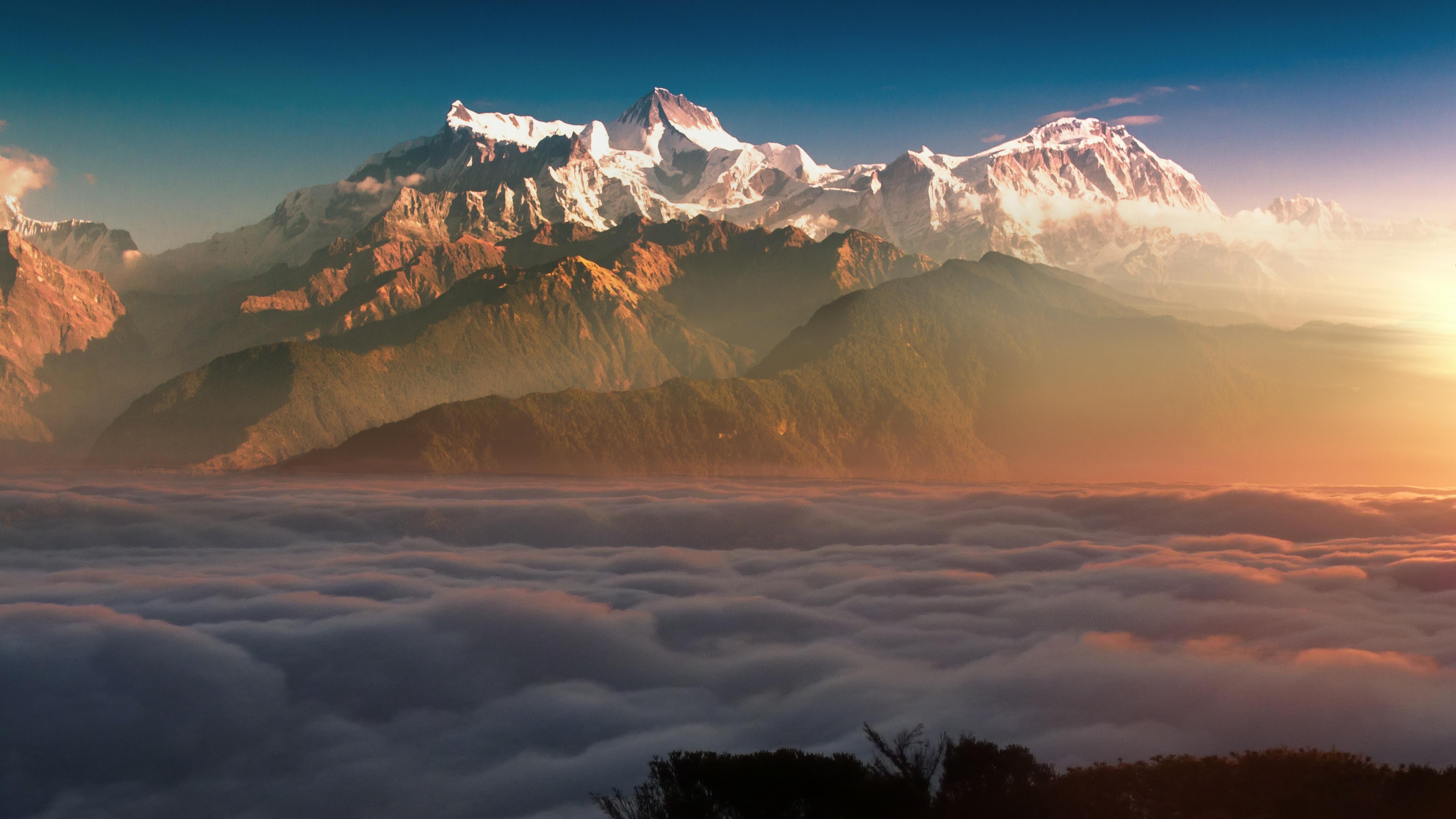 5120x2880 Mountain Landscape Clouds 8k 5k HD 4k Wallpapers ...