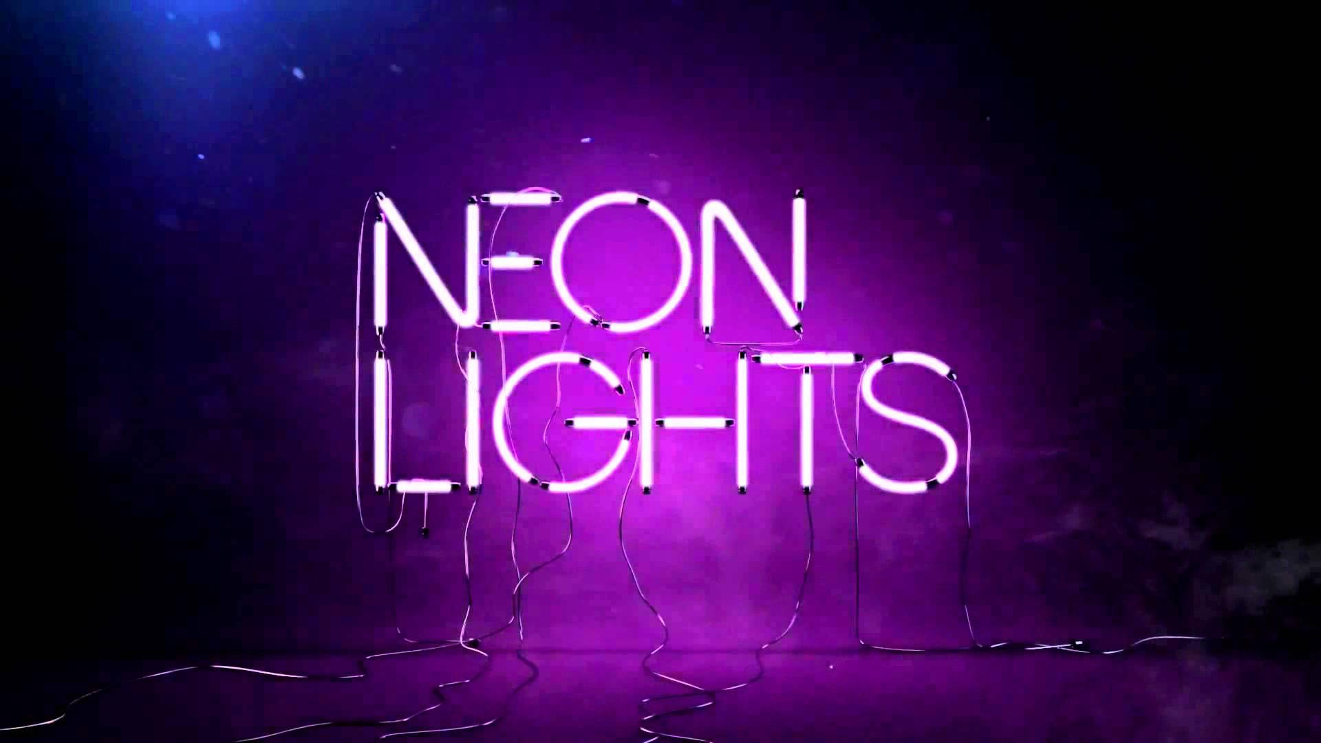 christmas neon lights hd - photo #29