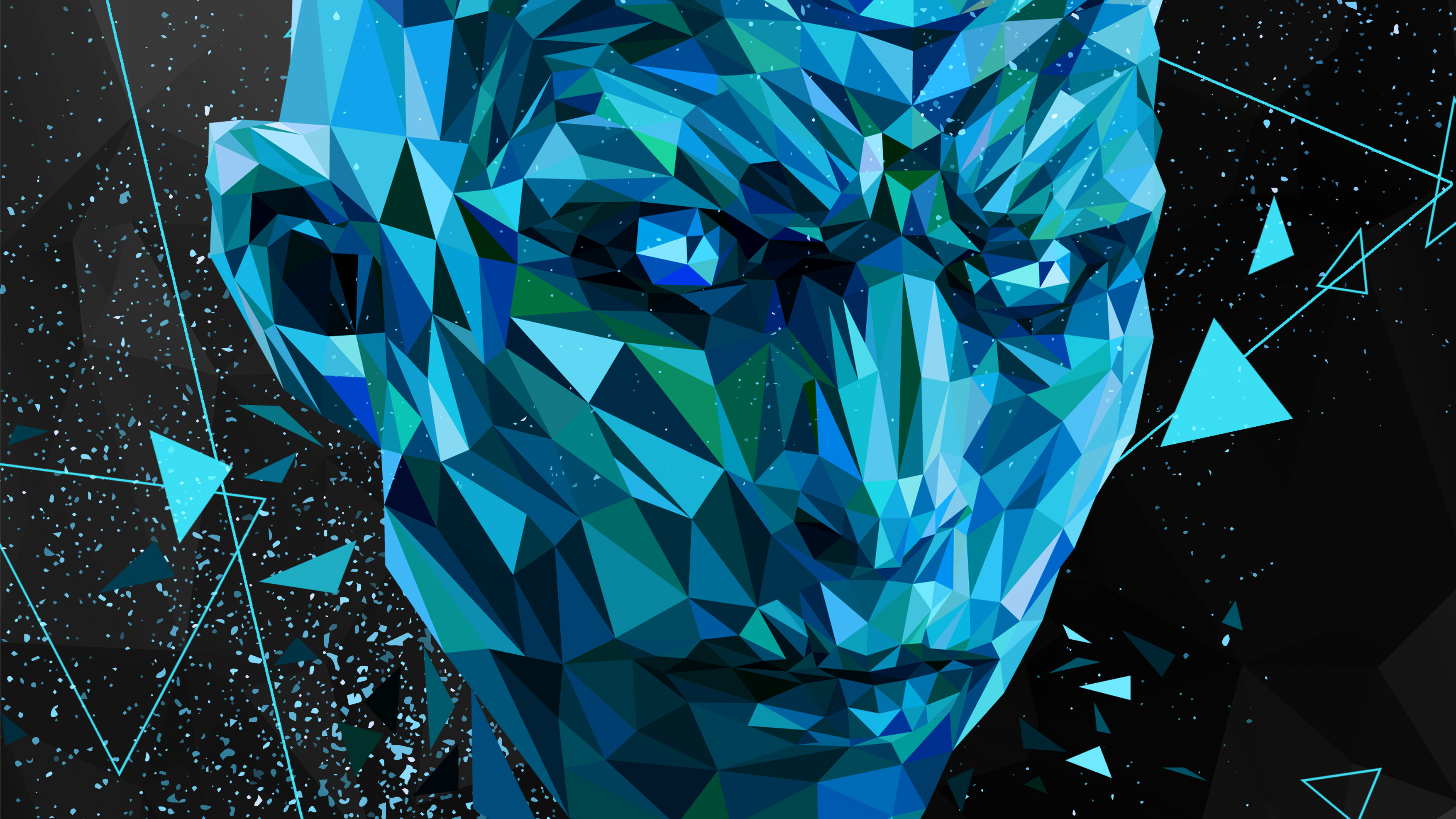 720x1280 Night King Low Poly Art Moto G,X Xperia Z1,Z3