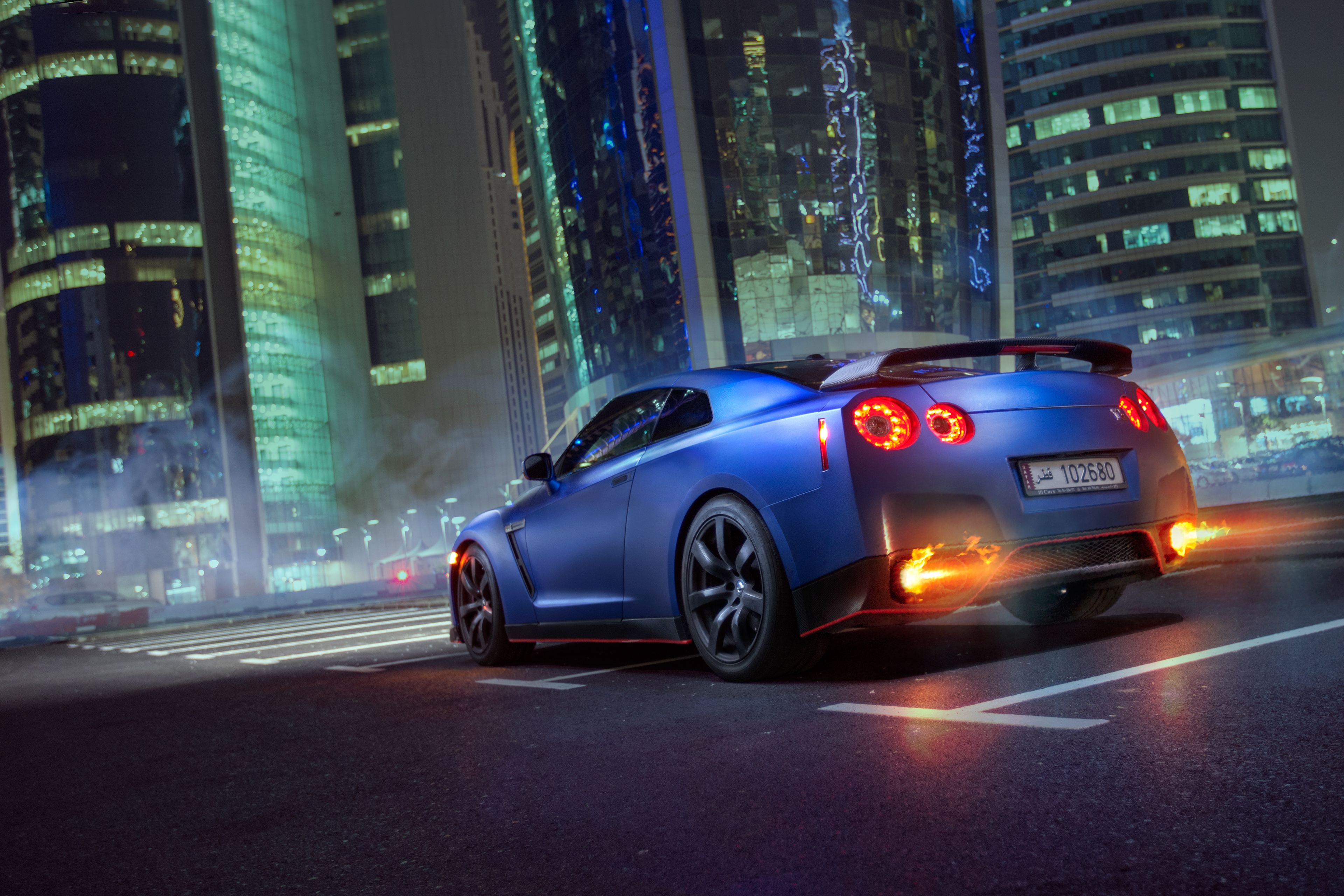 2048x2048 Anthem Ipad Air Hd 4k Wallpapers Images: 2048x2048 Nissan GTR Rear 4k Ipad Air HD 4k Wallpapers