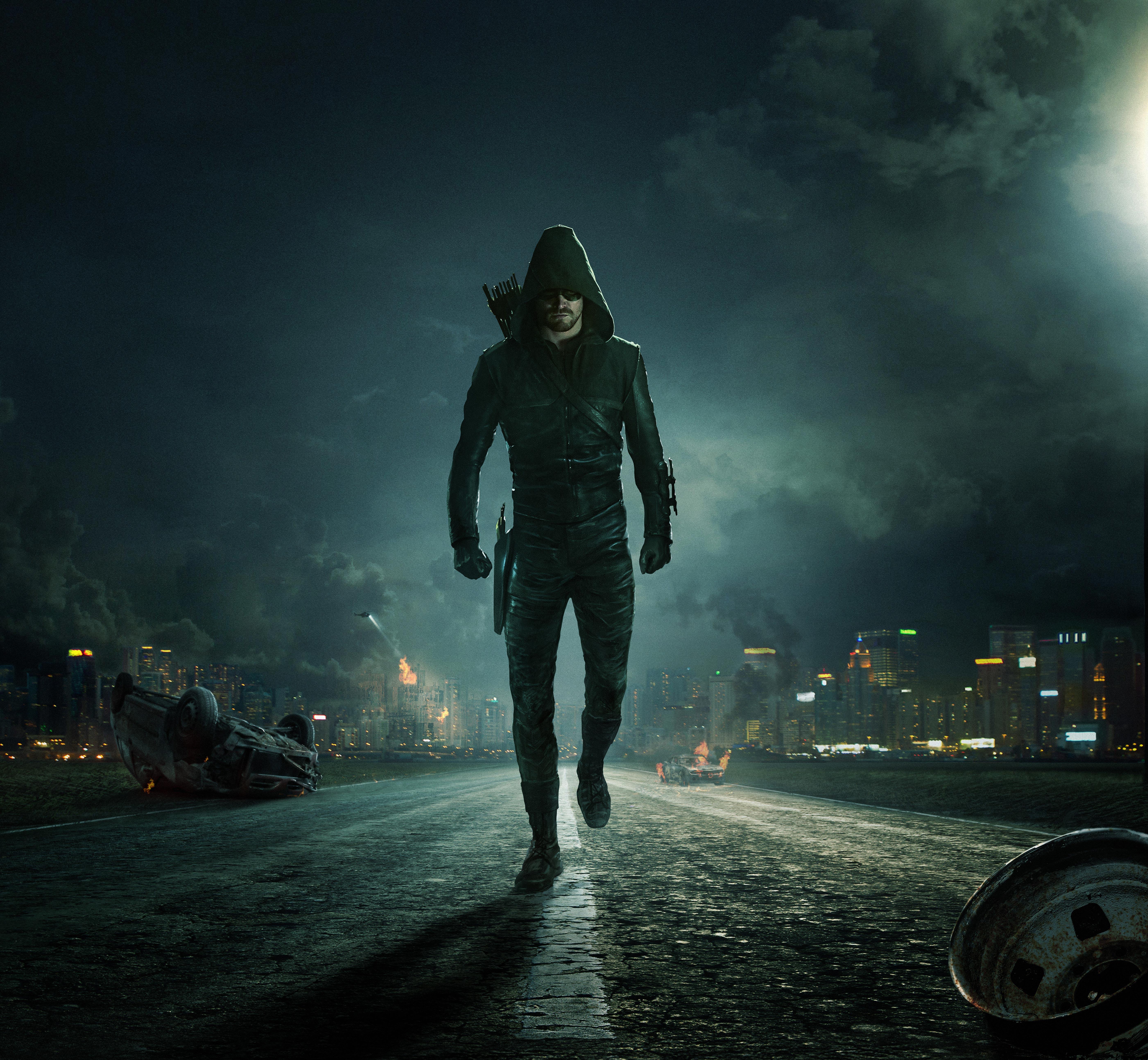 Oliver Queen Arrow Season 6 2017 5k, HD Tv Shows, 4k