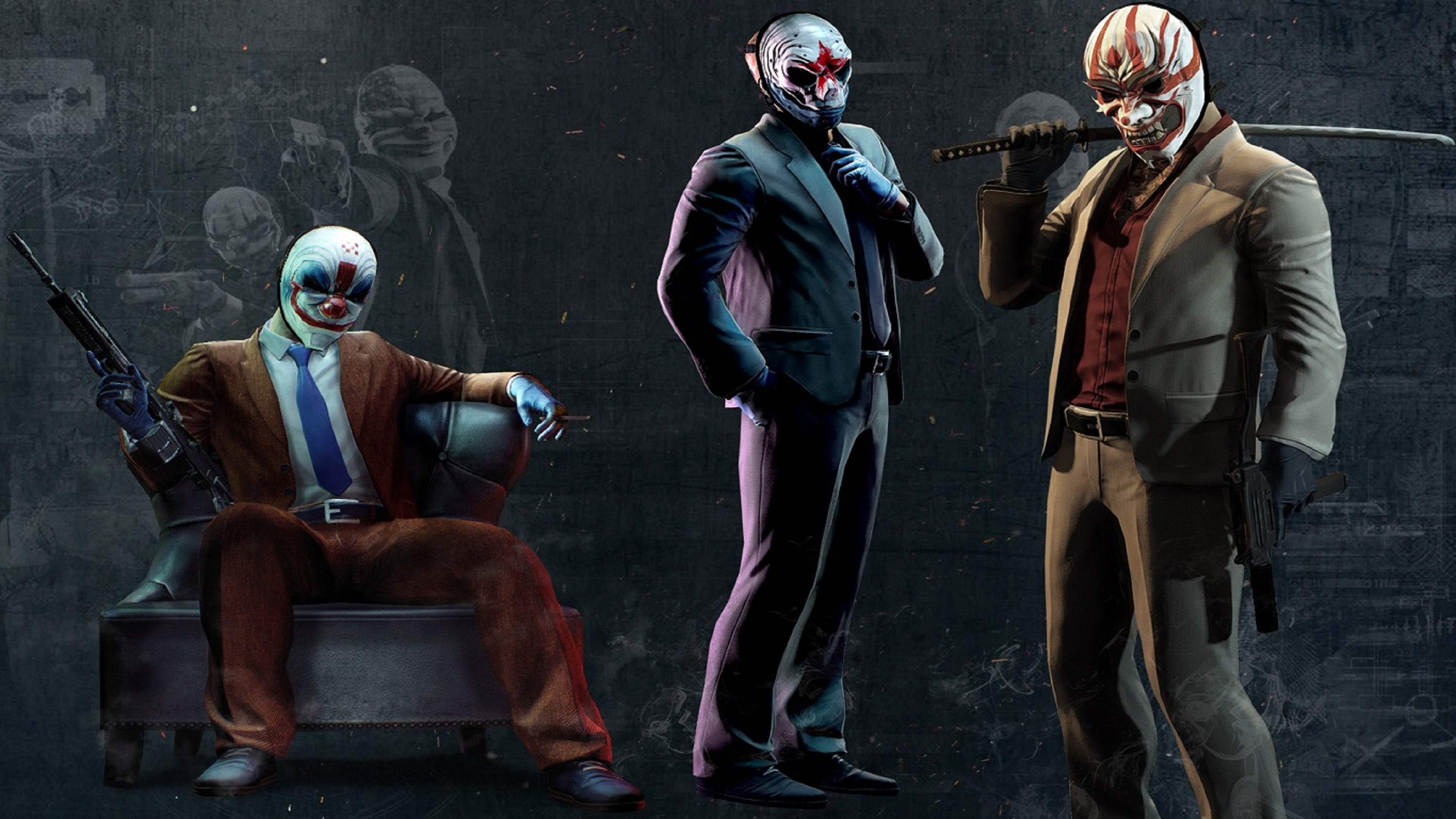 payday 2 artwork 2 hd games 4k wallpapers images