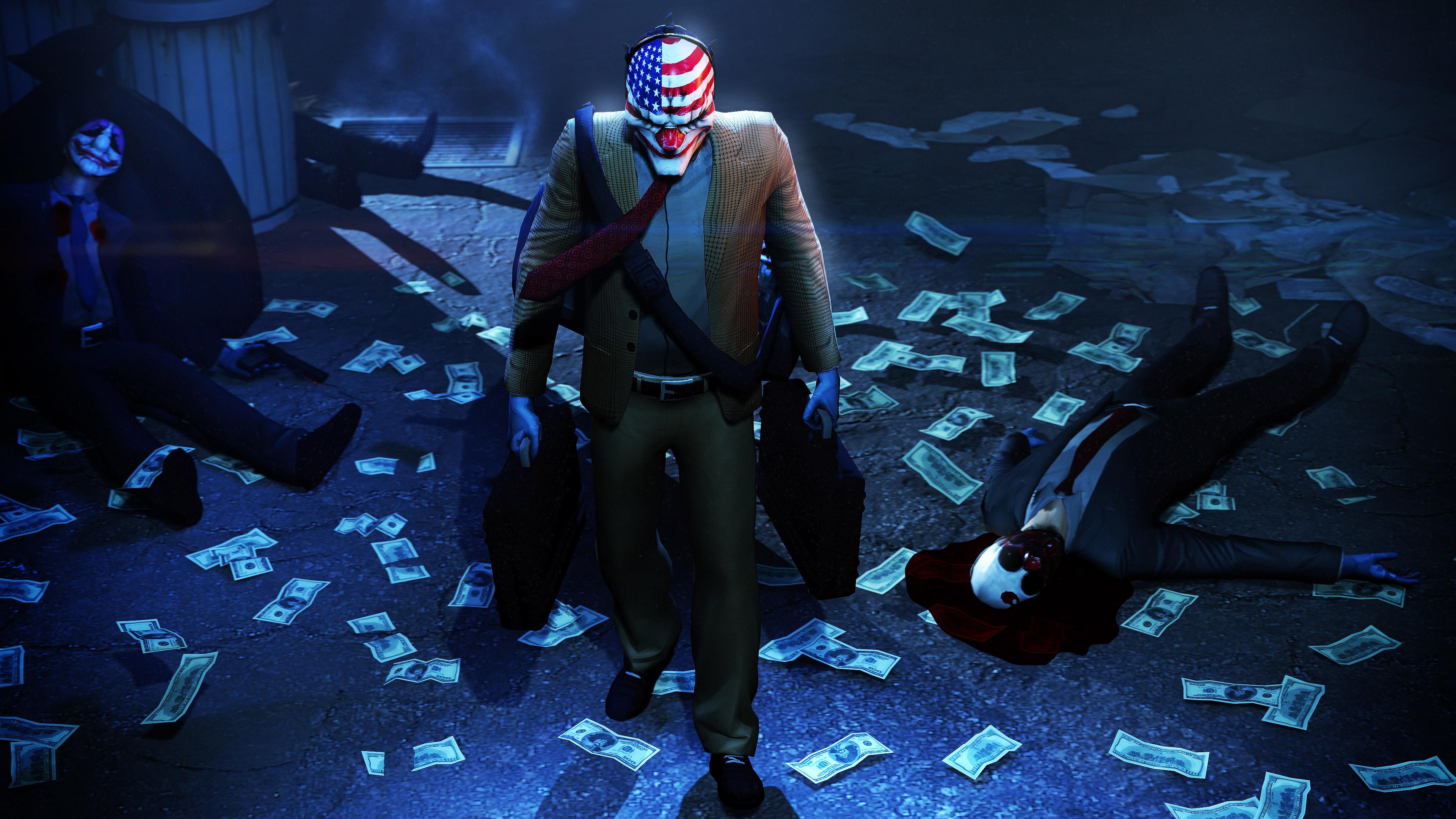 Payday 2 game joker hd games 4k wallpapers images for Joker wallpaper 4k