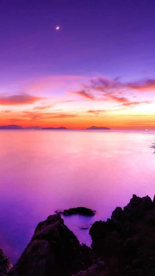 540x960 Pink Sunset 540x960 Resolution HD 4k Wallpapers