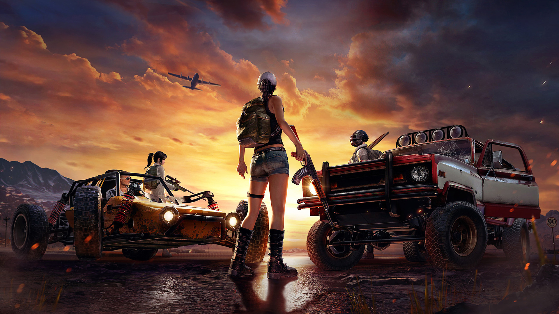 Playerunknown S Battlegrounds Wallpapers: 1920x1080 PlayerUnknowns Battlegrounds Art Laptop Full HD