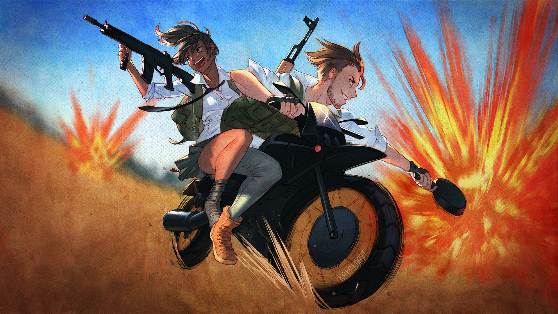 Download Pubg Mobile Wallpapers 720p 1080p 4k: 1920x1080 PlayerUnknowns Battlegrounds Artwork Laptop Full