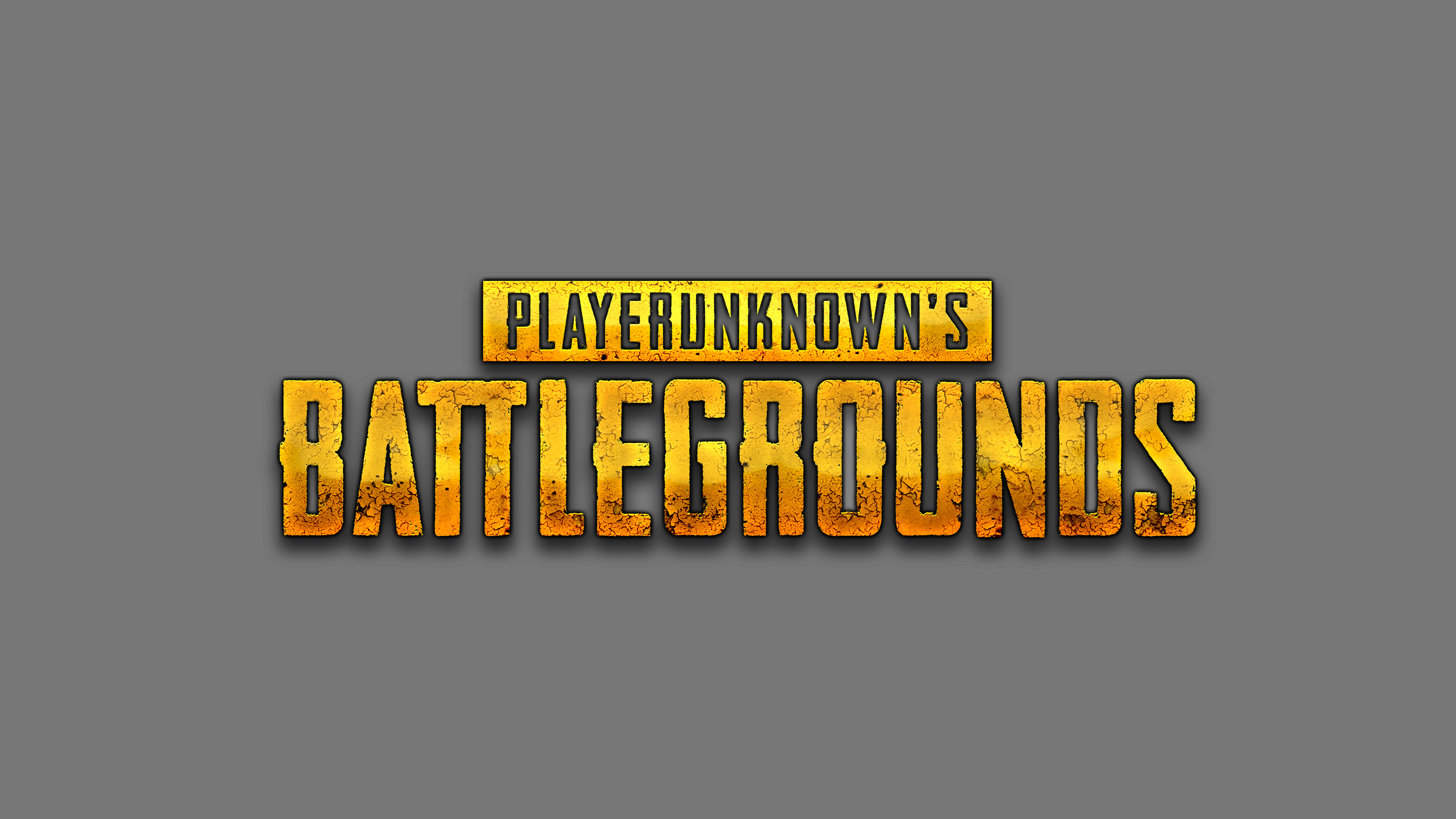 PlayerUnknowns Battlegrounds Logo 5k, HD Games, 4k