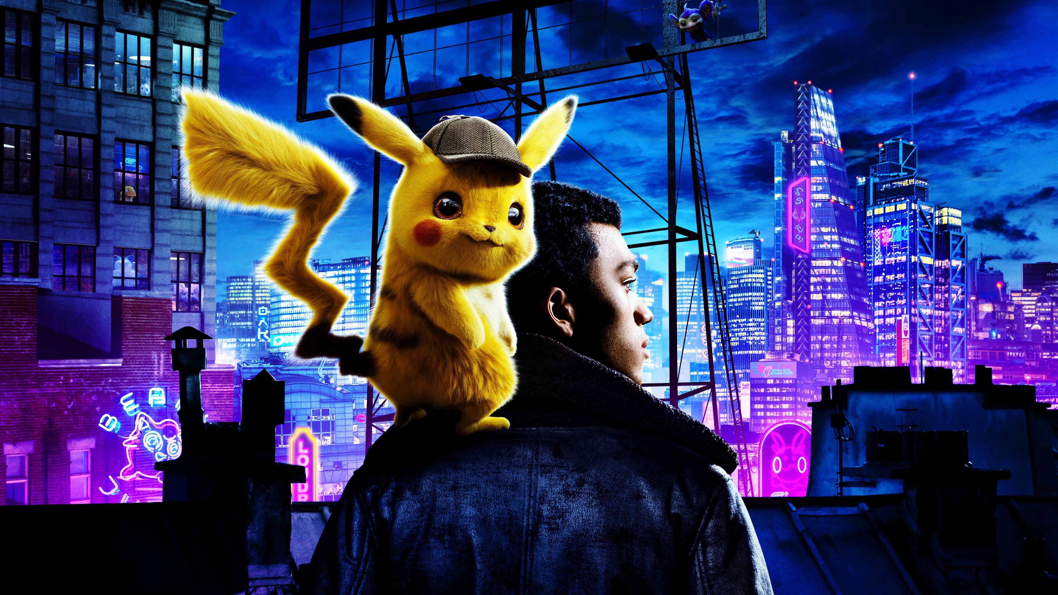 1366x768 Pokemon Detective Pikachu Movie 4k 1366x768 Resolution HD 4k Wallpapers, Images ...