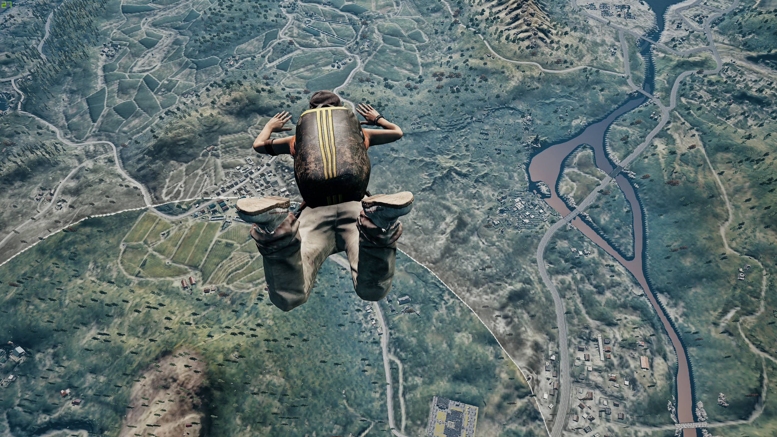 Pubg Song Hd Video Download: Pubg Jump From Plane 4k, HD Games, 4k Wallpapers, Images