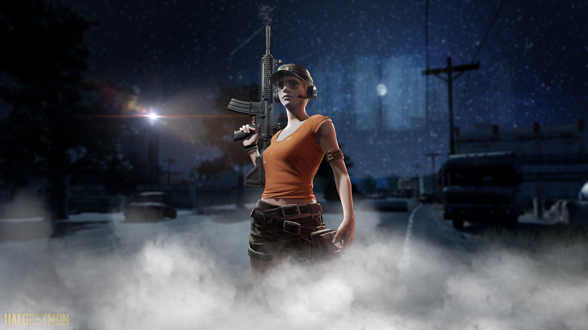 1920x1080 Pubg Characters 4k Laptop Full Hd 1080p Hd 4k: 1920x1080 Pubg Night Laptop Full HD 1080P HD 4k Wallpapers