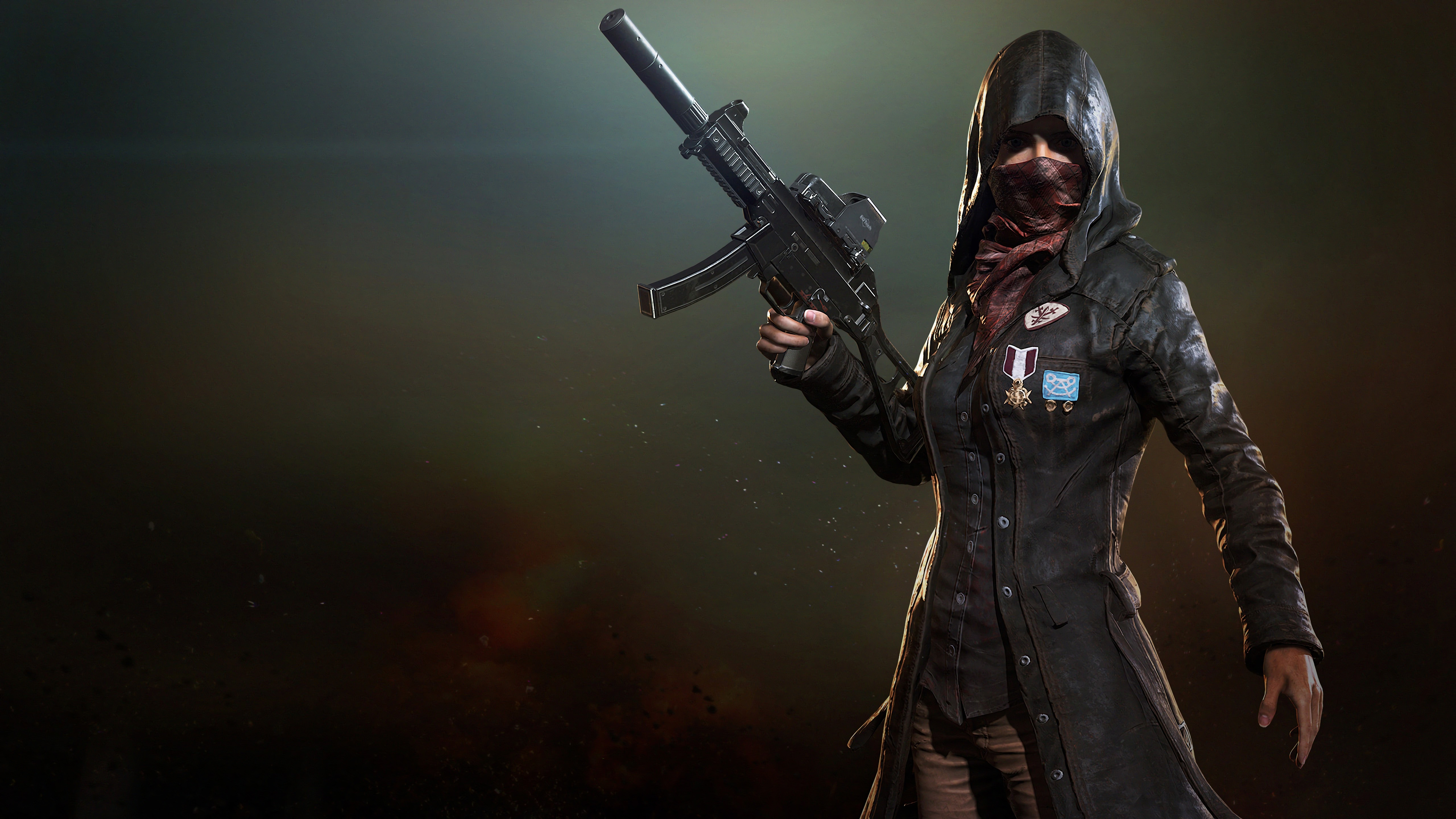 1366x768 Pubg Trenchcoat Girl 4k 1366x768 Resolution HD 4k