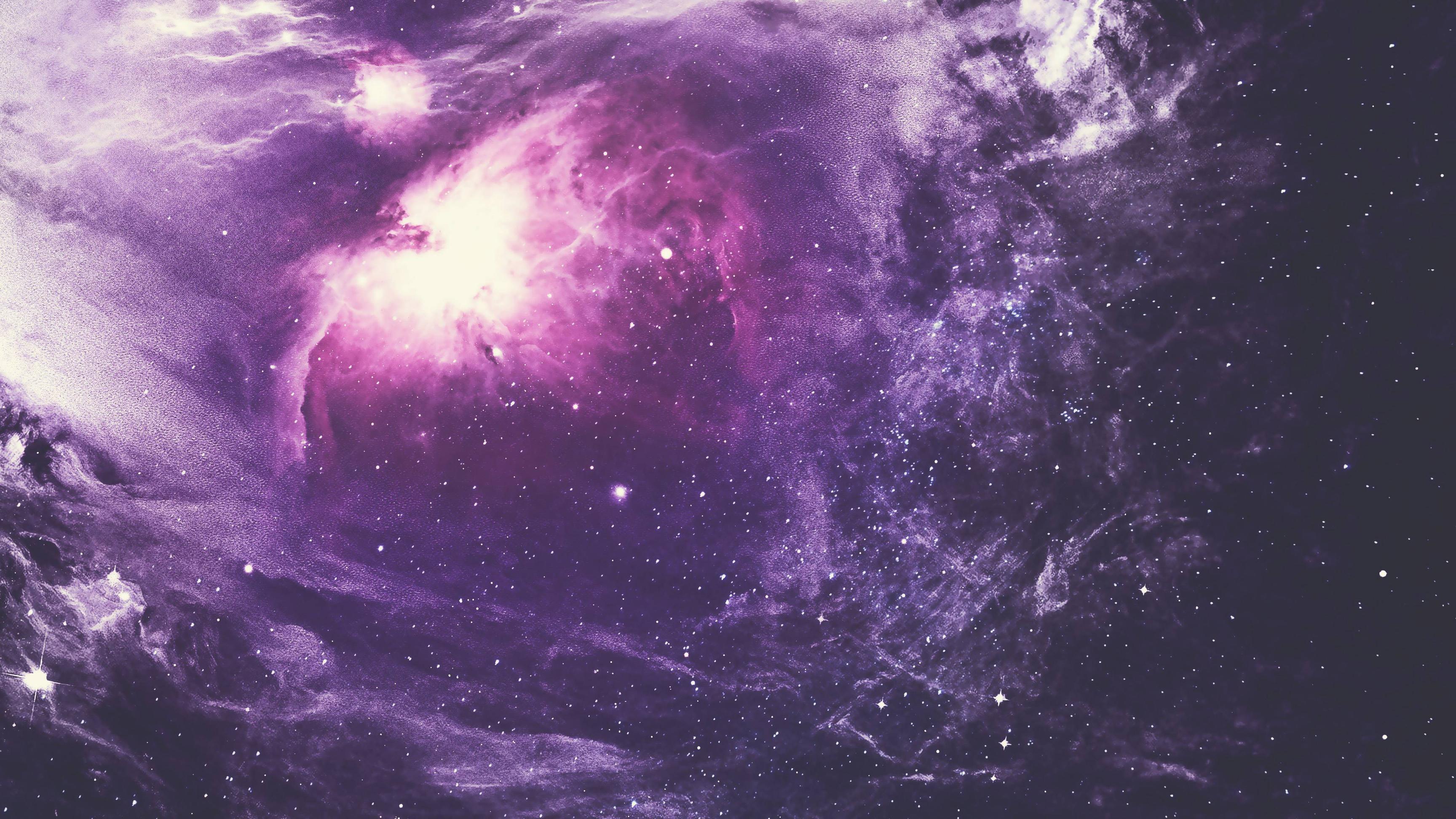 Purple Nebula 4k | Digital Universe HD 4k Wallpapers