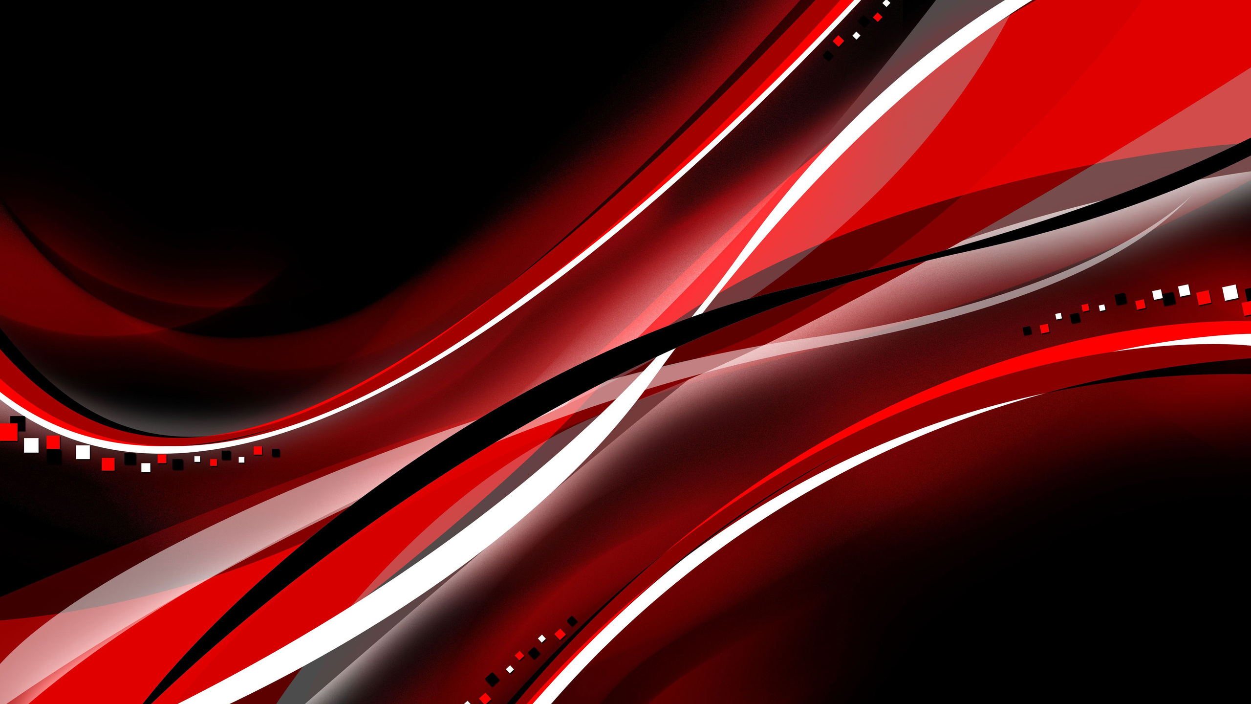 2560x1440 Red Black Color Interval Abstract 4k 1440P ...