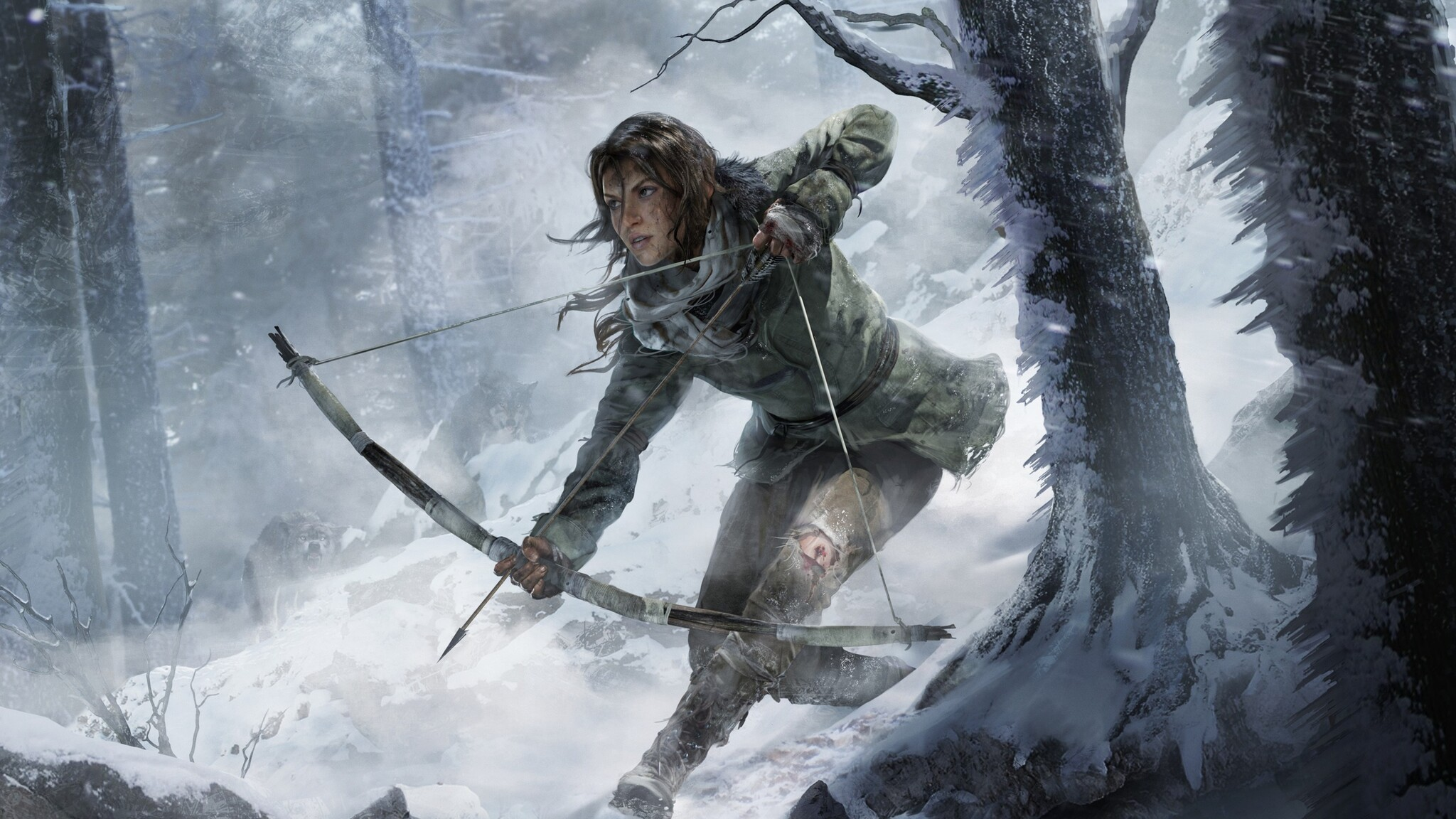 2048x1152 rise of the tomb raider game 2016 2048x1152 - Rise of the tomb raider 4k wallpaper ...