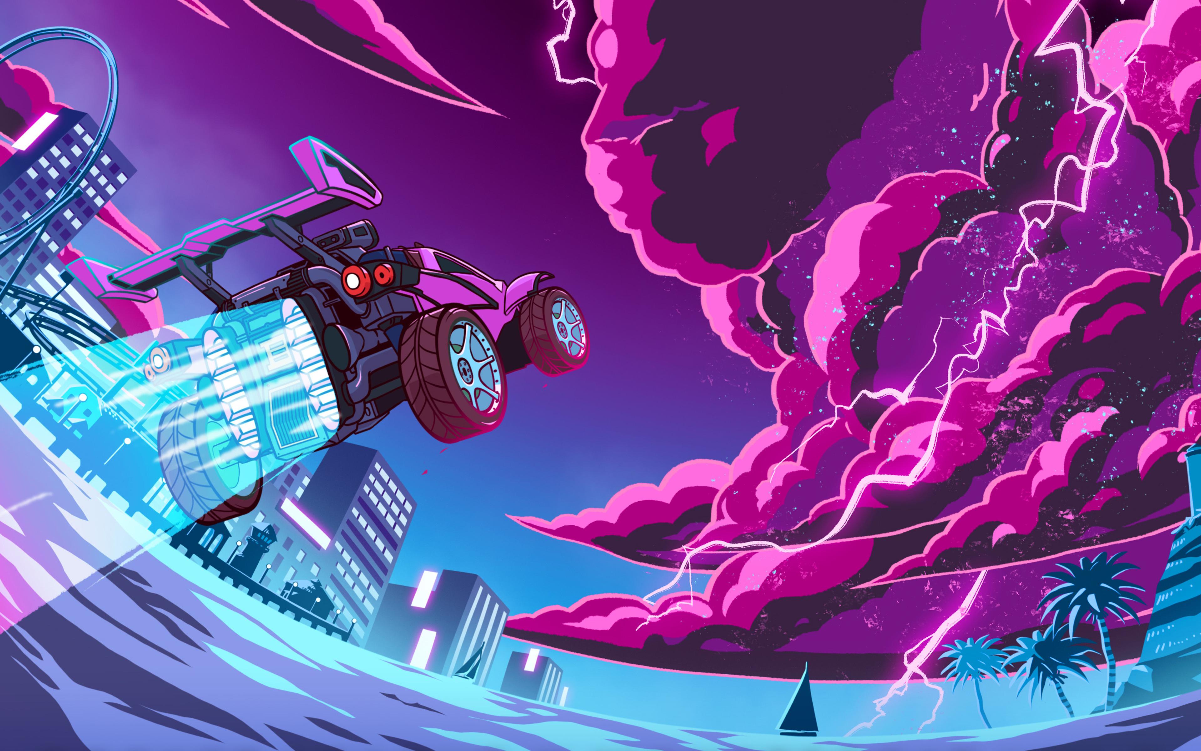 3840x2400 Rocket League X Monstercat 4k HD 4k Wallpapers ...
