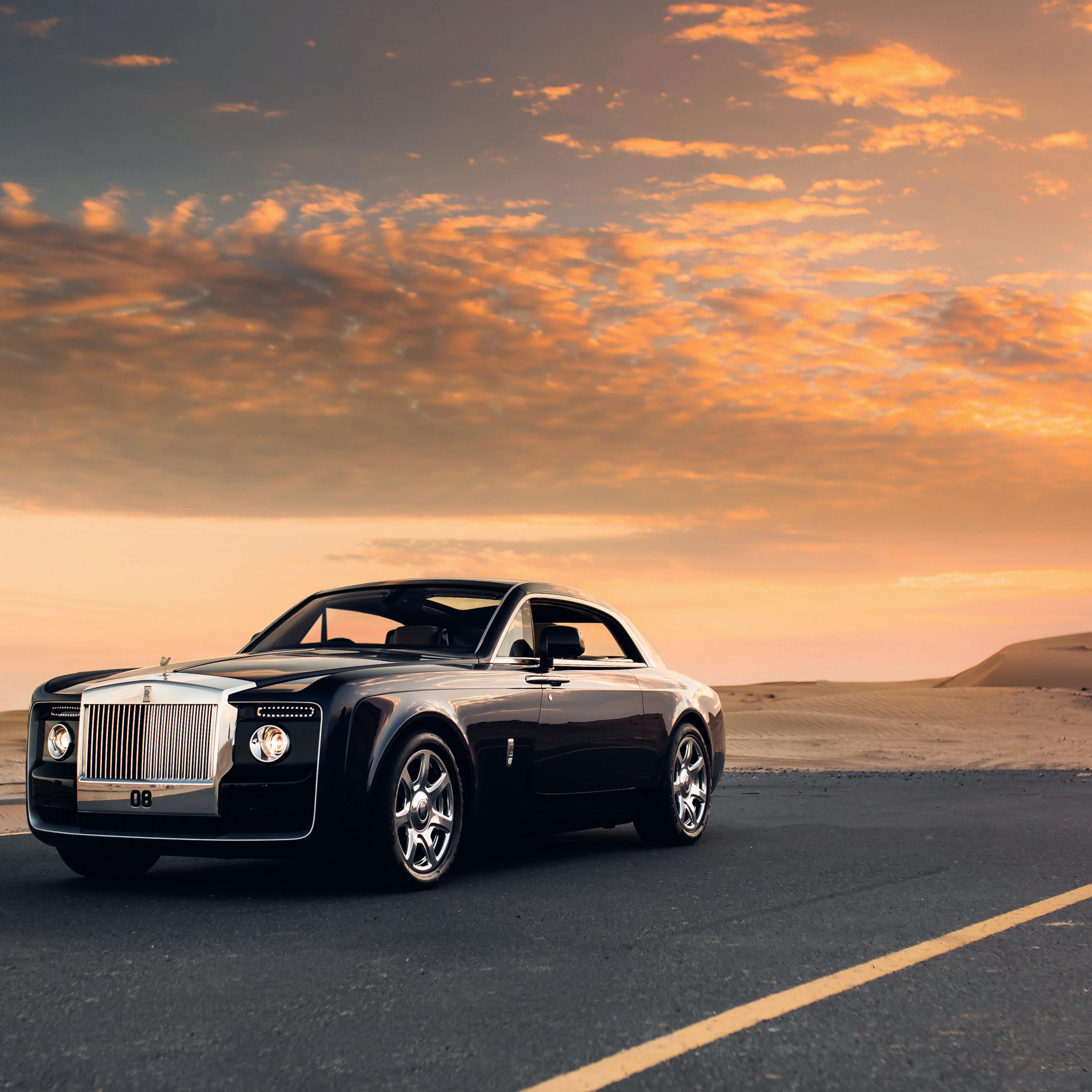 2932x2932 Rolls Royce Sweptail Car Ipad Pro Retina Display ...