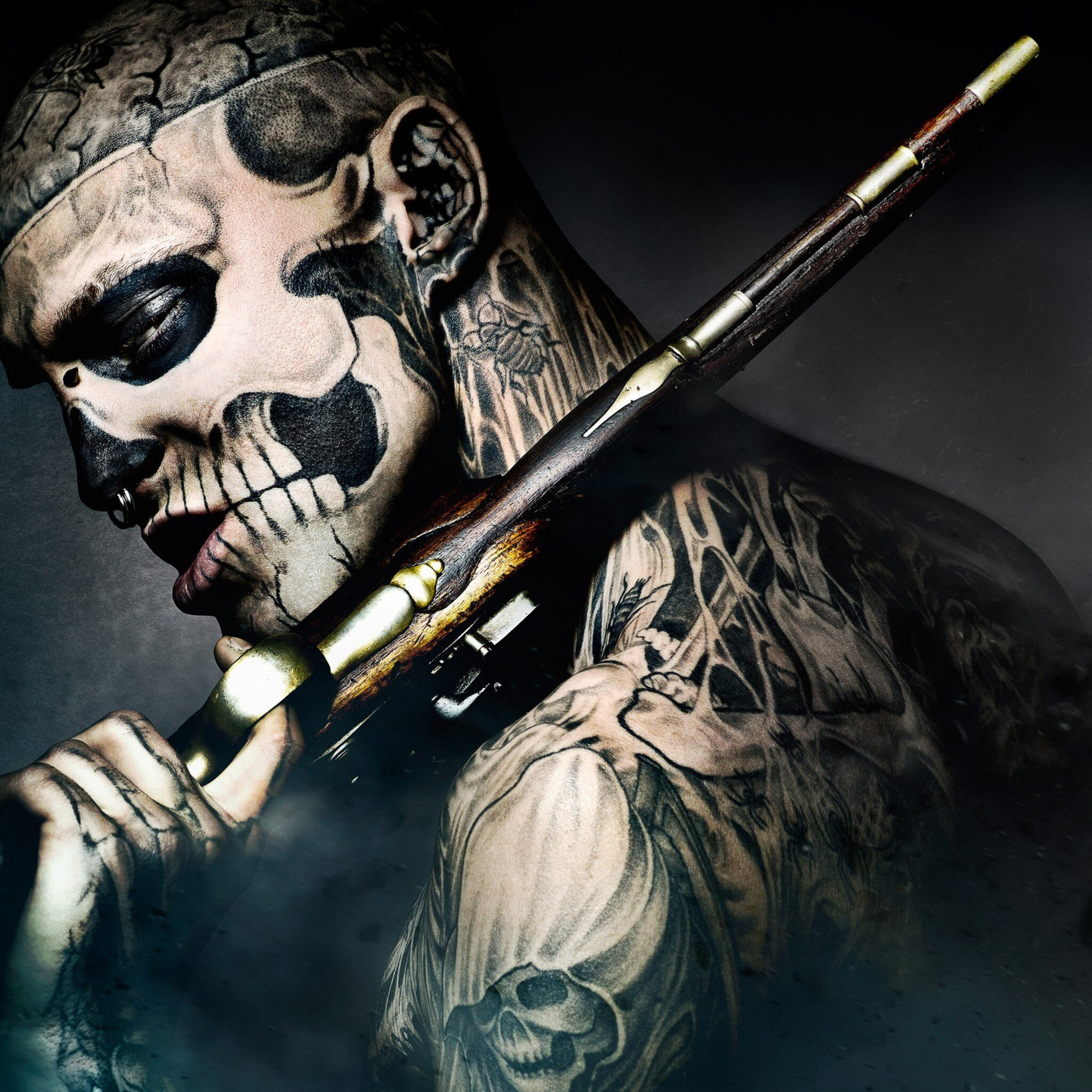 Hd Ink For Tattoos Wallpapers: 2048x2048 Ronin Freak Ipad Air HD 4k Wallpapers, Images