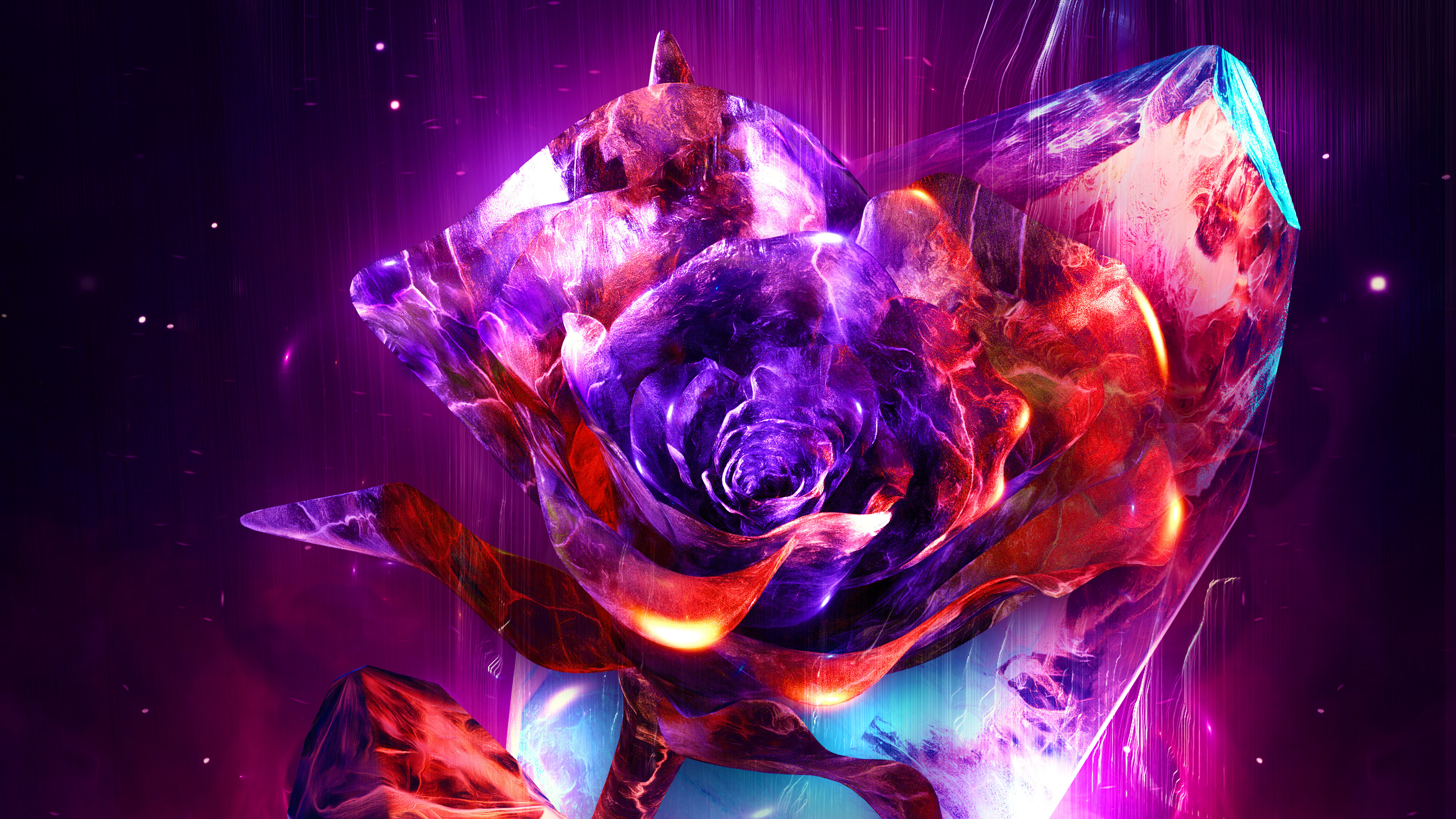 3840x2160 Rose Abstract 4k 4k HD 4k Wallpapers, Images